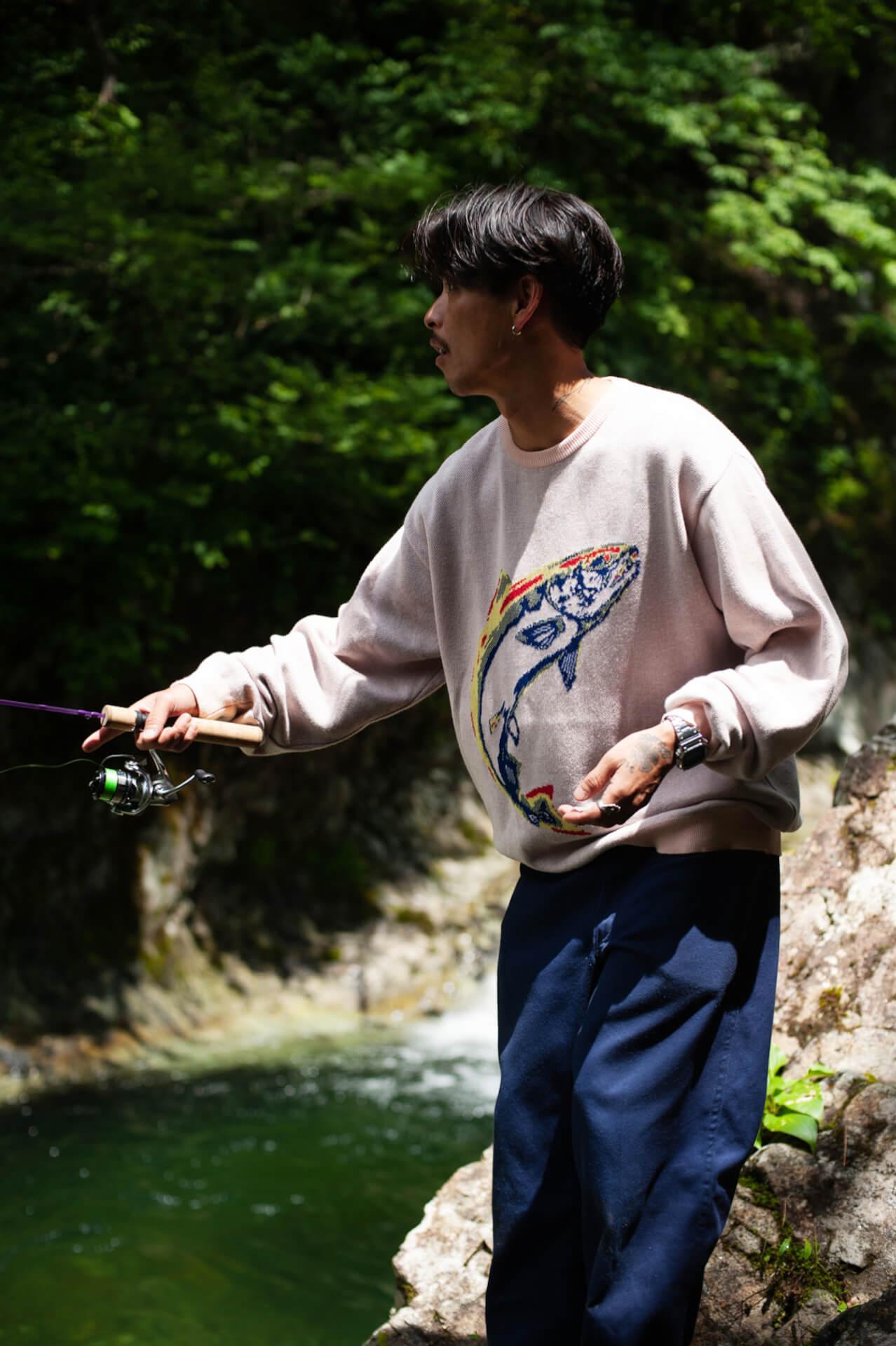 PSEUDOSとCHAOS FISHING CLUBの新作が発売に|LOOKのモデルは丸山晋太郎、撮影は堀裕輝、荒川晋作 life-fashion210724_PSEUDOS_CHAOS-FISHING-CLUB_6