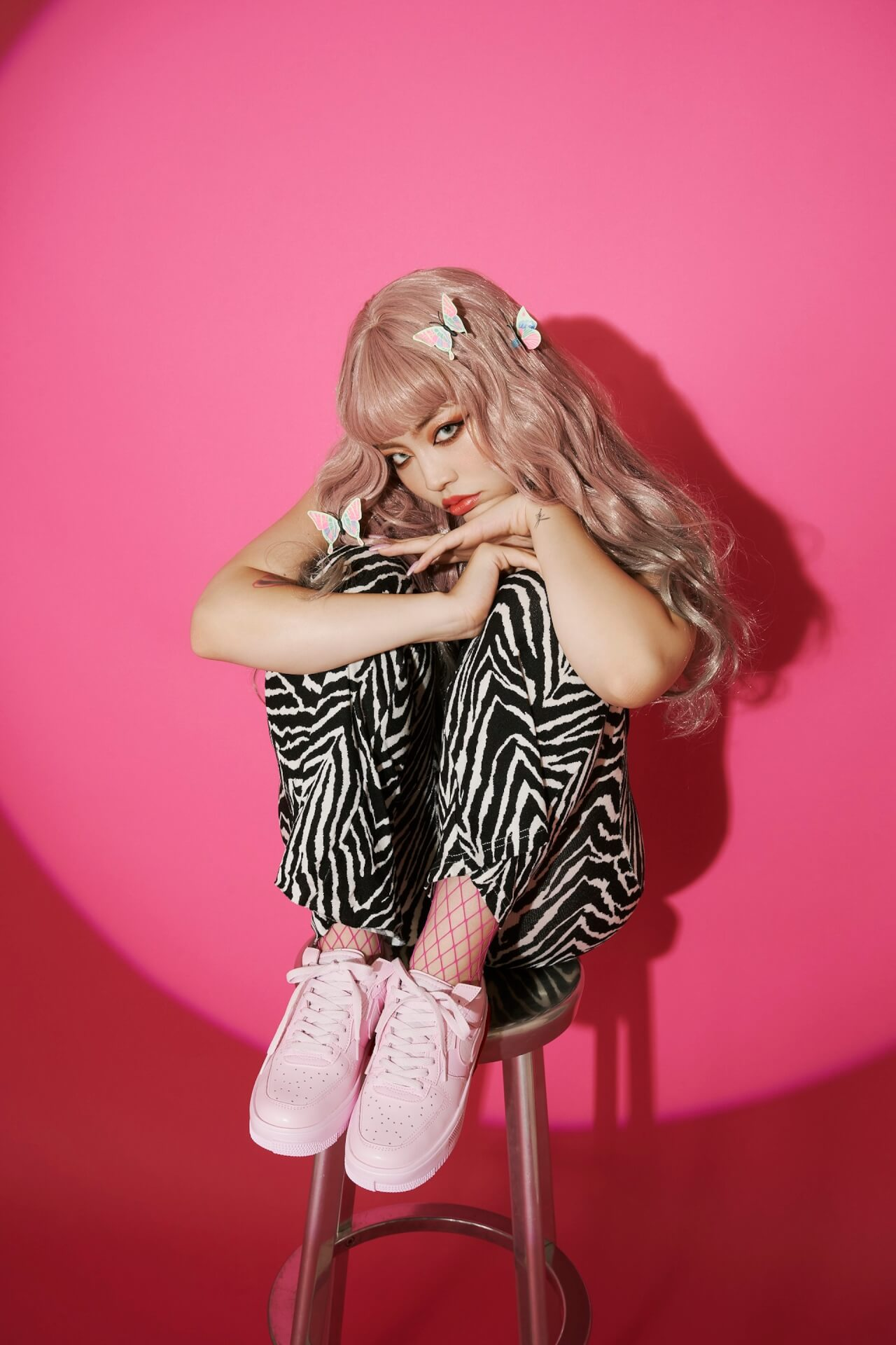 atmos pinkからNIKE W AIR FORCE 1 FONTANKA PINKが限定発売!ちゃんみなのダンスオーディションも開催 fashion_210727_airforce_cyanmina4