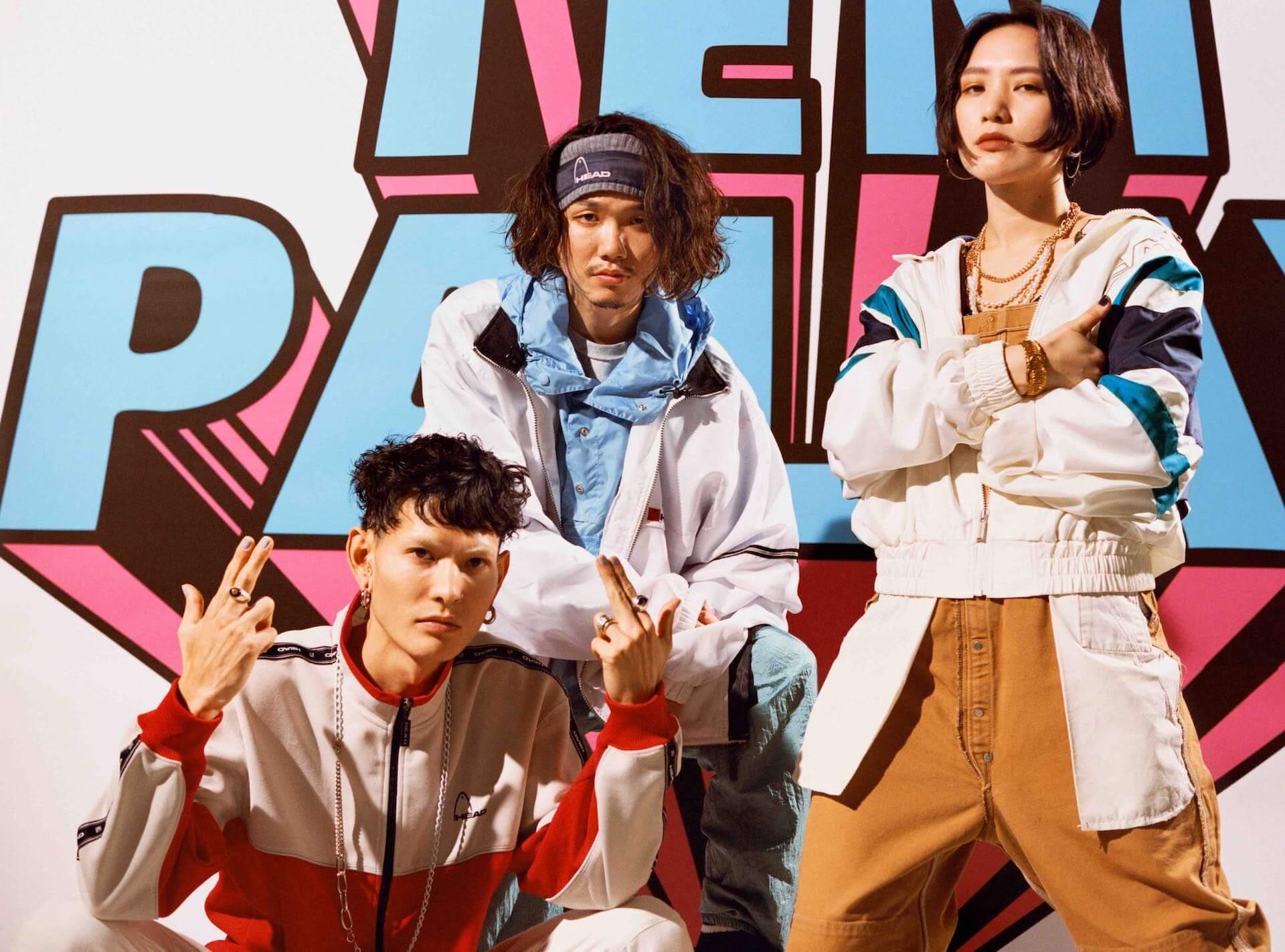 """Tempalayの新曲""""あびばのんのん""""がFM802『Poppin'FLAG!!!』にて先行オンエア決定!特設サイトもオープン music_210727_tempalay1"""