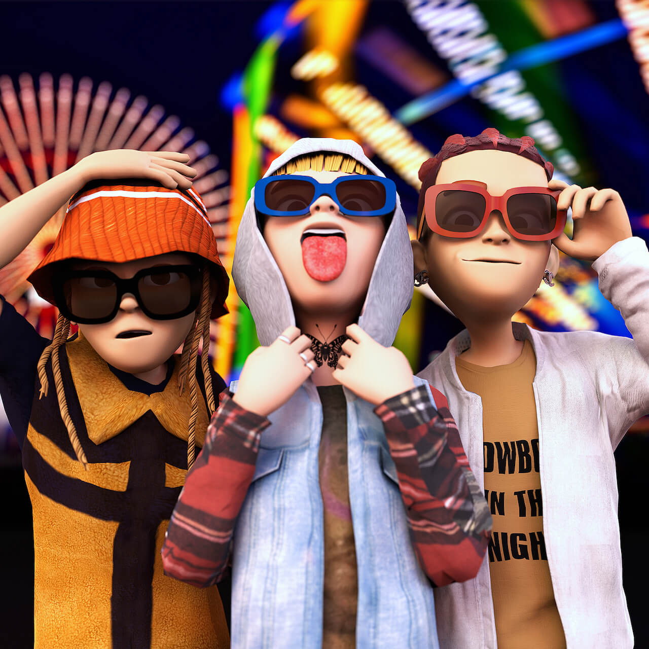 LEX、Only U、Yung sticky womのコラボアルバムからYouTubeリークで話題の「STRANGER」MVが公開 ディレクターは村田実莉 music210729-lex-onlyu-yungstickywom-1