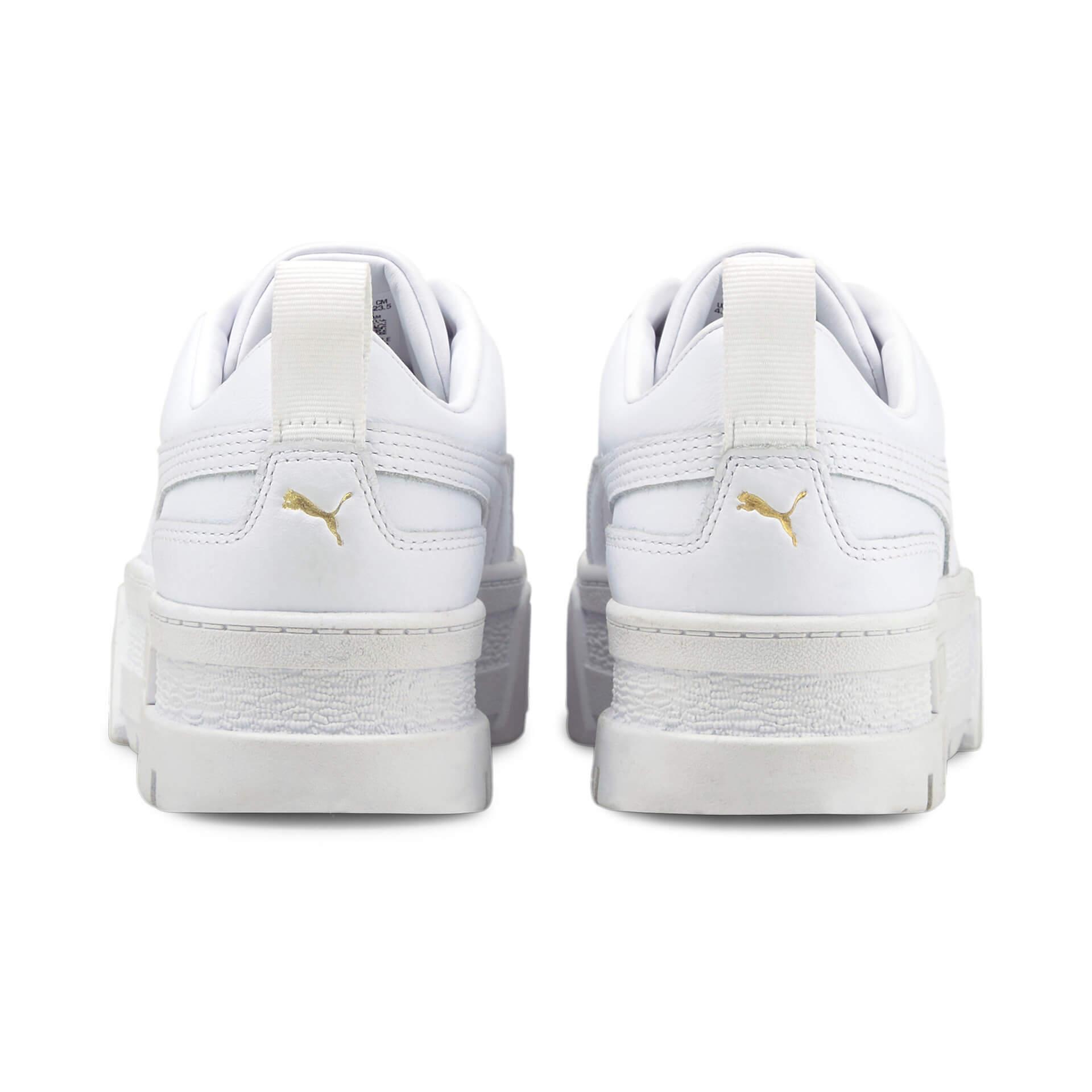 プーマの厚底モデル「メイズ」の新色2色が発売決定!オールホワイト、オールブラックの2モデル life210730_puma_mayze_6