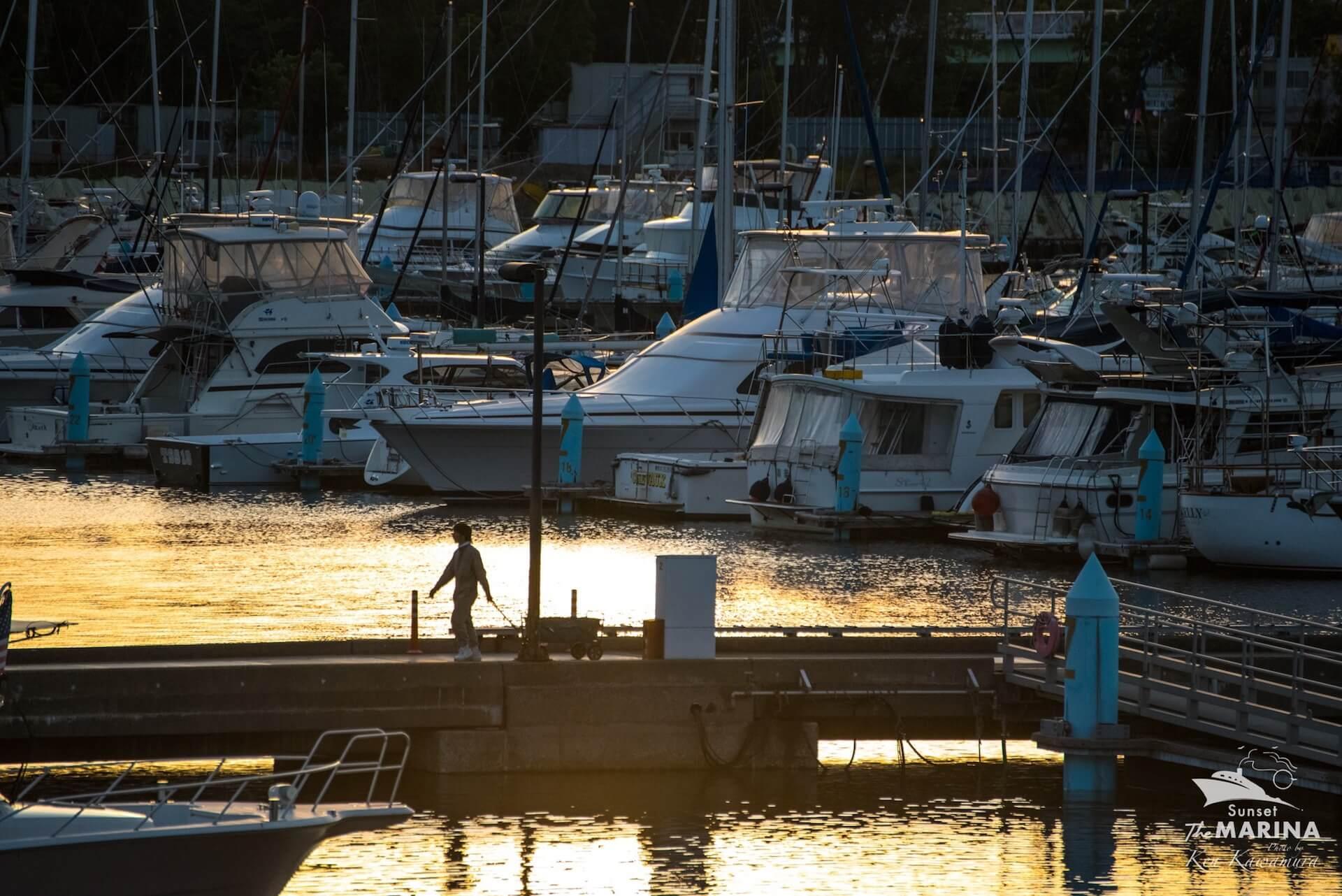 極上のサンセットパーティ<Sunset The MARINA>に冥丁らが登場 music210801-sunset-the-marina-2