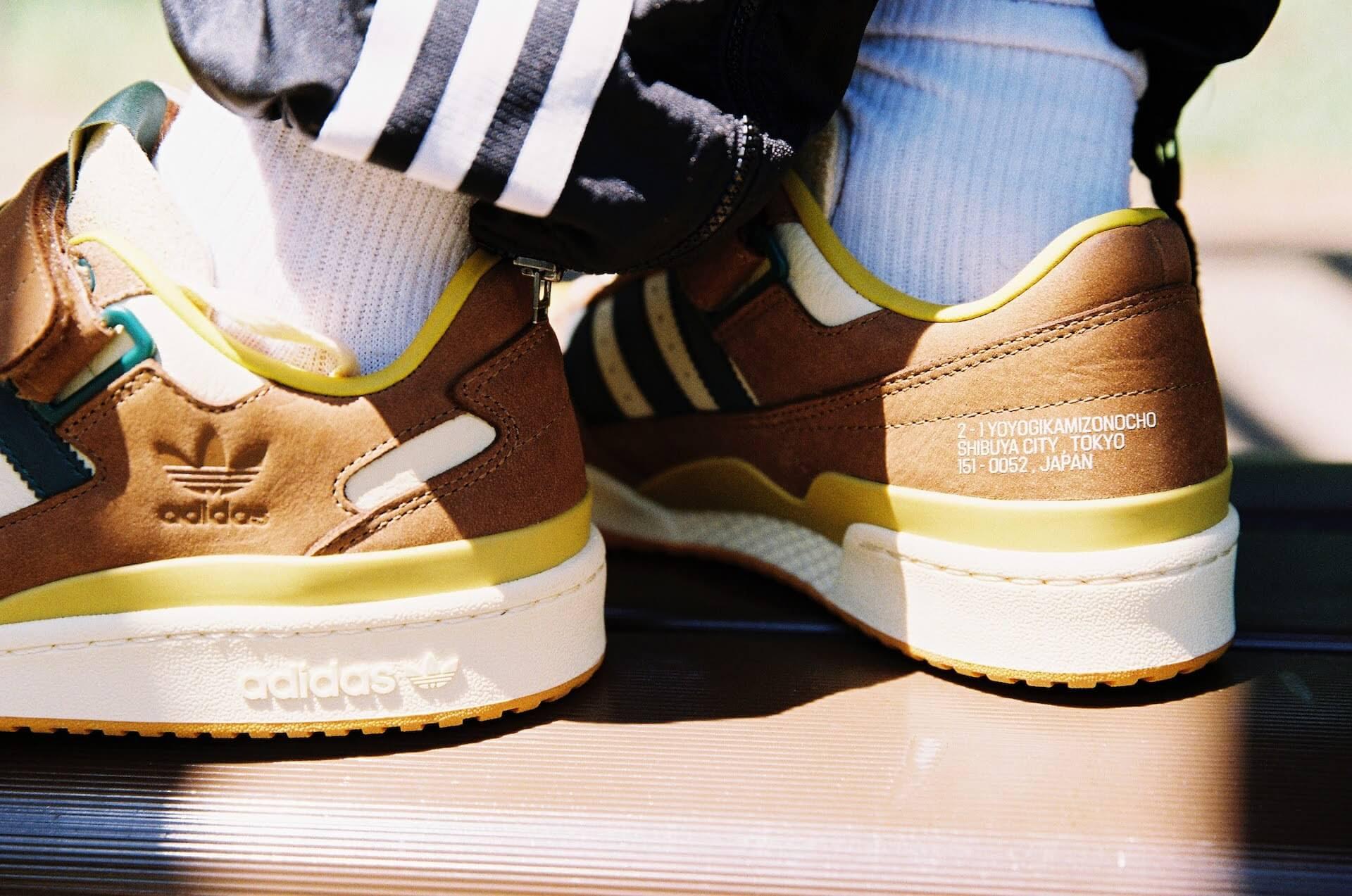"adidas Originalsとatmosのコラボパック「""YOYOGI PARK"" PACK」が登場!代々木公園をモチーフにしたZX 8000、FORUMの2足が発売 life210802_adidasoriginals_yoyogipark_4"