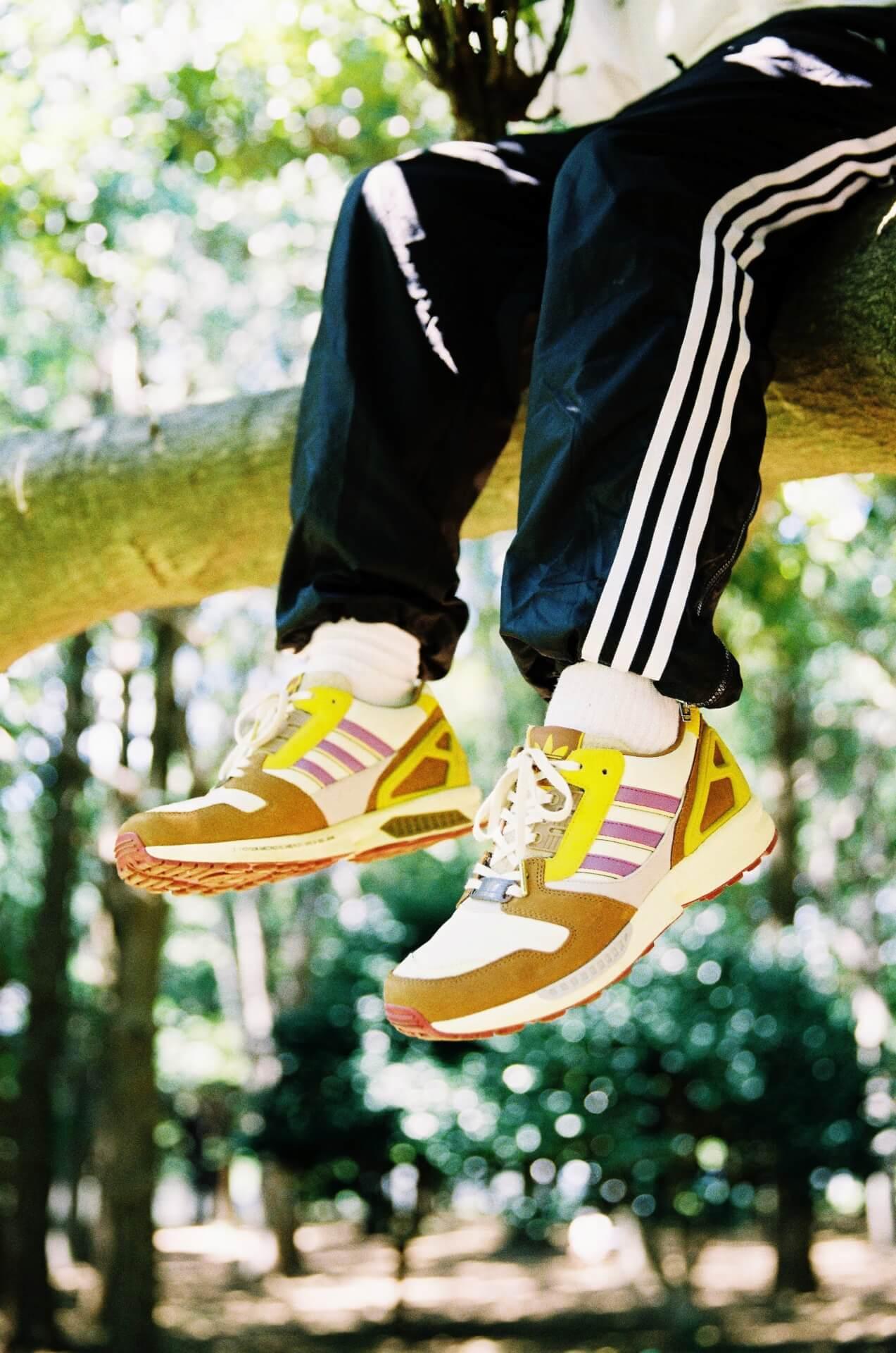 "adidas Originalsとatmosのコラボパック「""YOYOGI PARK"" PACK」が登場!代々木公園をモチーフにしたZX 8000、FORUMの2足が発売 life210802_adidasoriginals_yoyogipark_8"