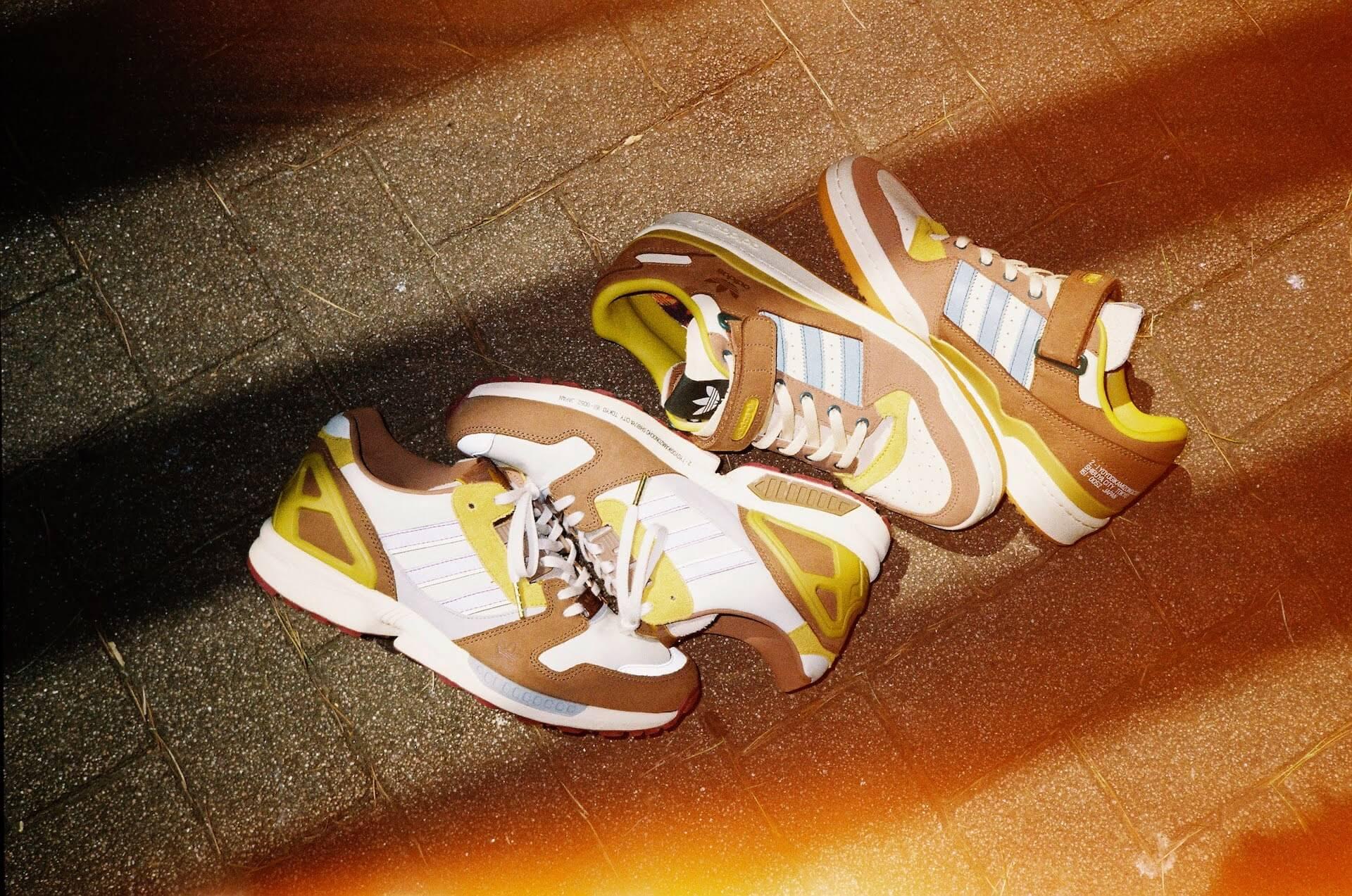 "adidas Originalsとatmosのコラボパック「""YOYOGI PARK"" PACK」が登場!代々木公園をモチーフにしたZX 8000、FORUMの2足が発売 life210802_adidasoriginals_yoyogipark_9"