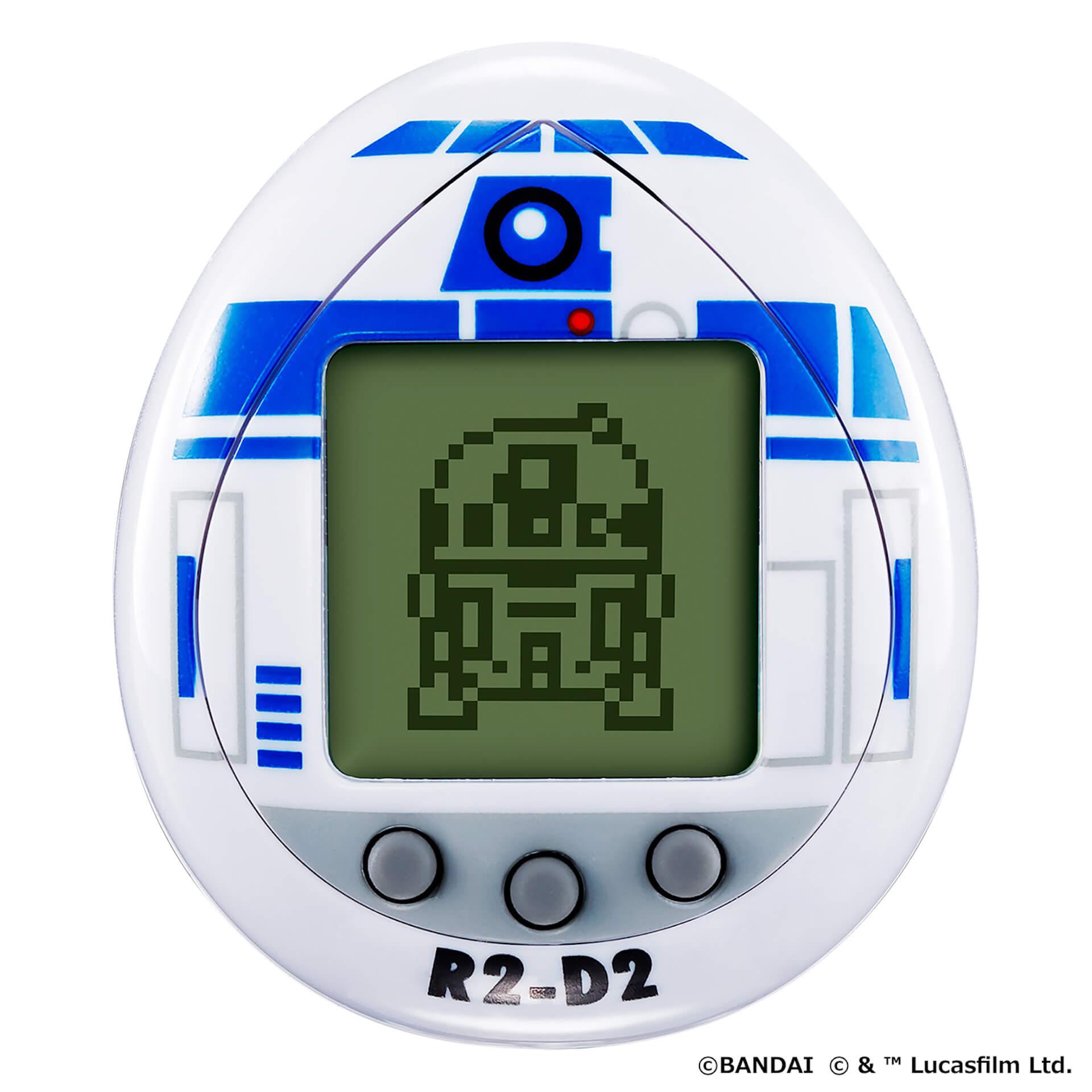 『スター・ウォーズ』のR2-D2をたまごっちで育成しよう!『R2-D2 TAMAGOTCHI』がバンダイから発売決定 tech210803_starwars_r2d2_2