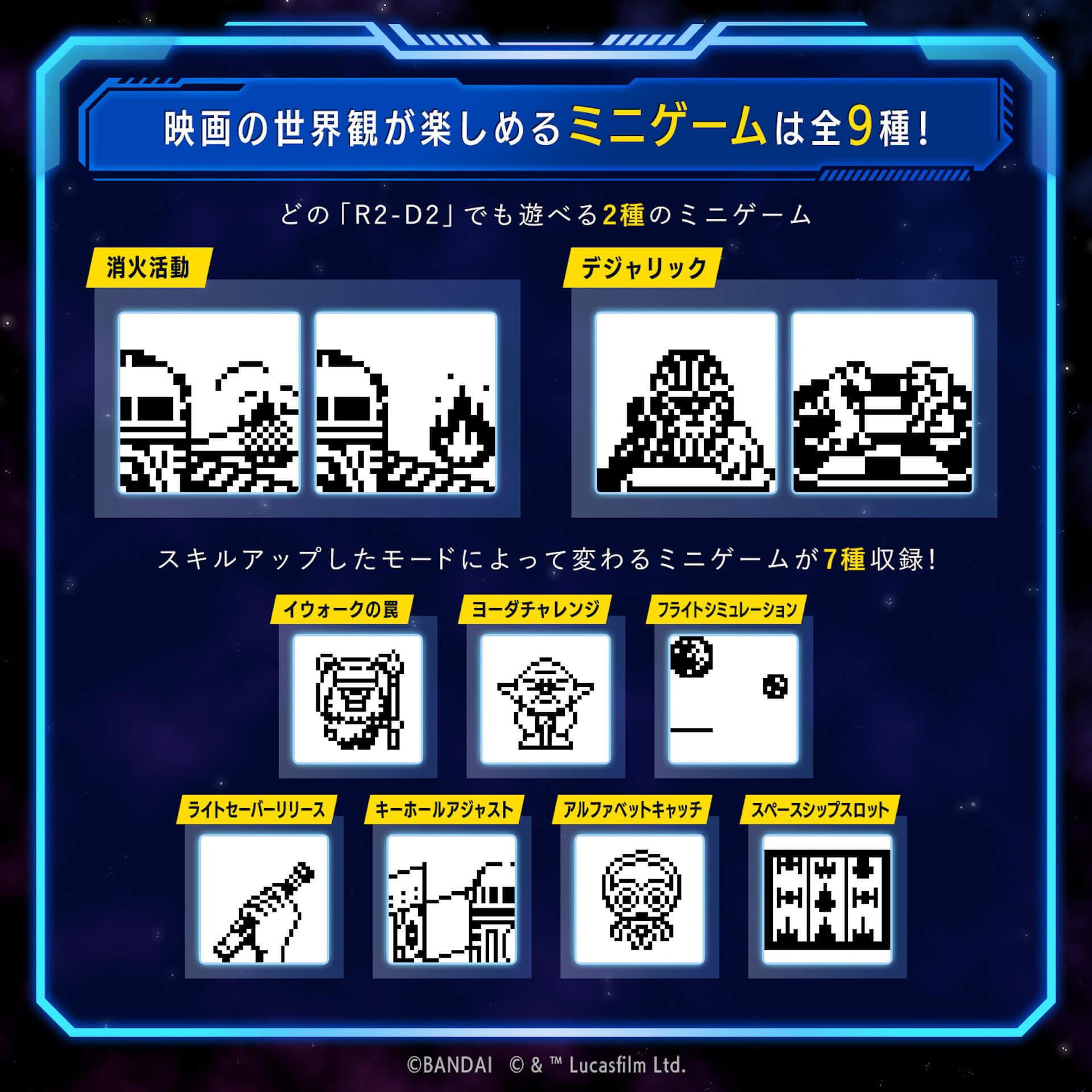『スター・ウォーズ』のR2-D2をたまごっちで育成しよう!『R2-D2 TAMAGOTCHI』がバンダイから発売決定 tech210803_starwars_r2d2_6