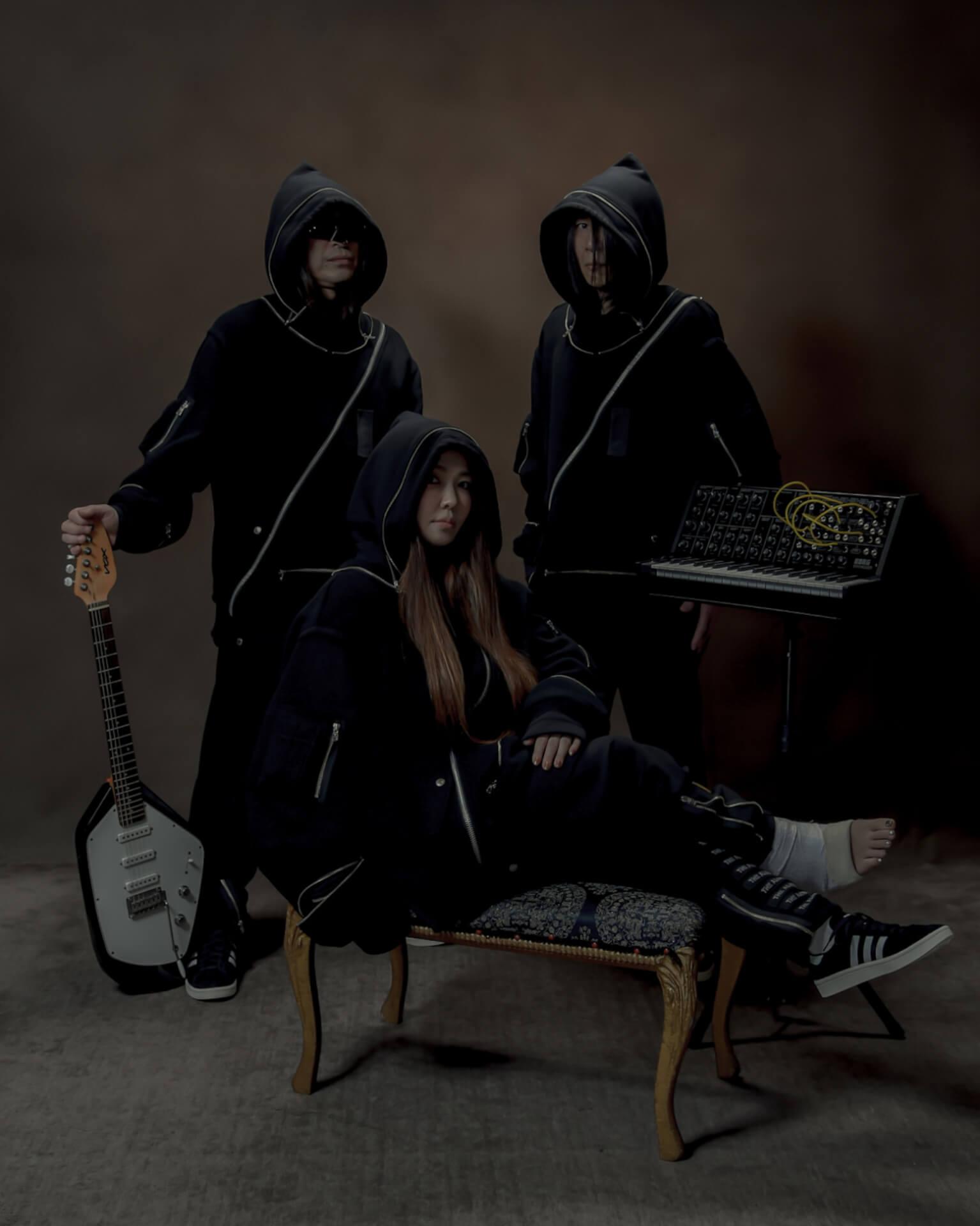 2ndアルバム『God Bless You』をリリースするTHE ALEXXがSUPER DOMMUNEで全曲ライブに挑戦! music210803_thealexx_superdommune_2