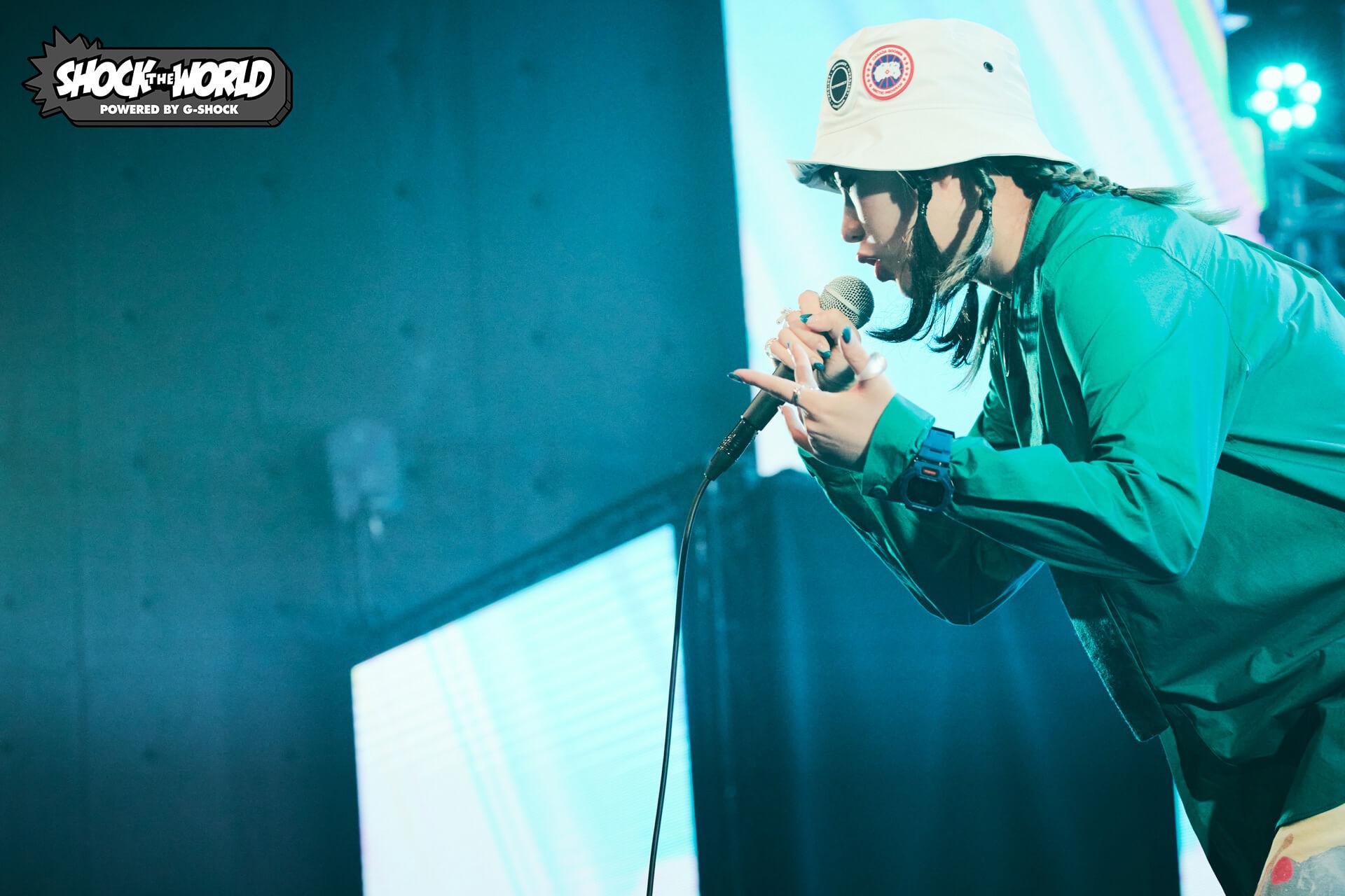 G-SHOCK『SHOCK THE WORLD』第6弾で80KIDZ、あっこゴリラ、YonYonのトーク&ライブセッションが実現! music210804_shocktheworld_1