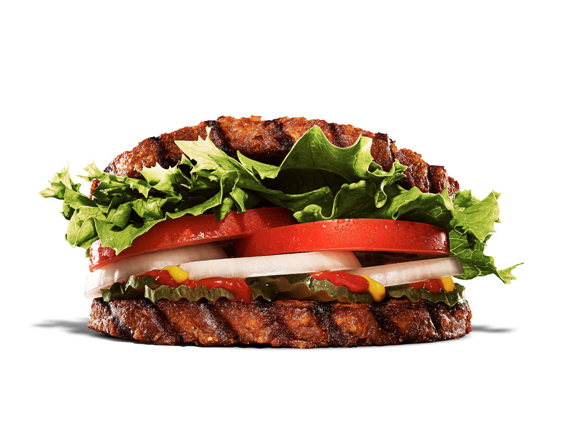 100%植物性パティ2枚で野菜をサンド!バーガーキングで『バージョン2ワッパー』が新発売 gourmet210805_burgerking_1
