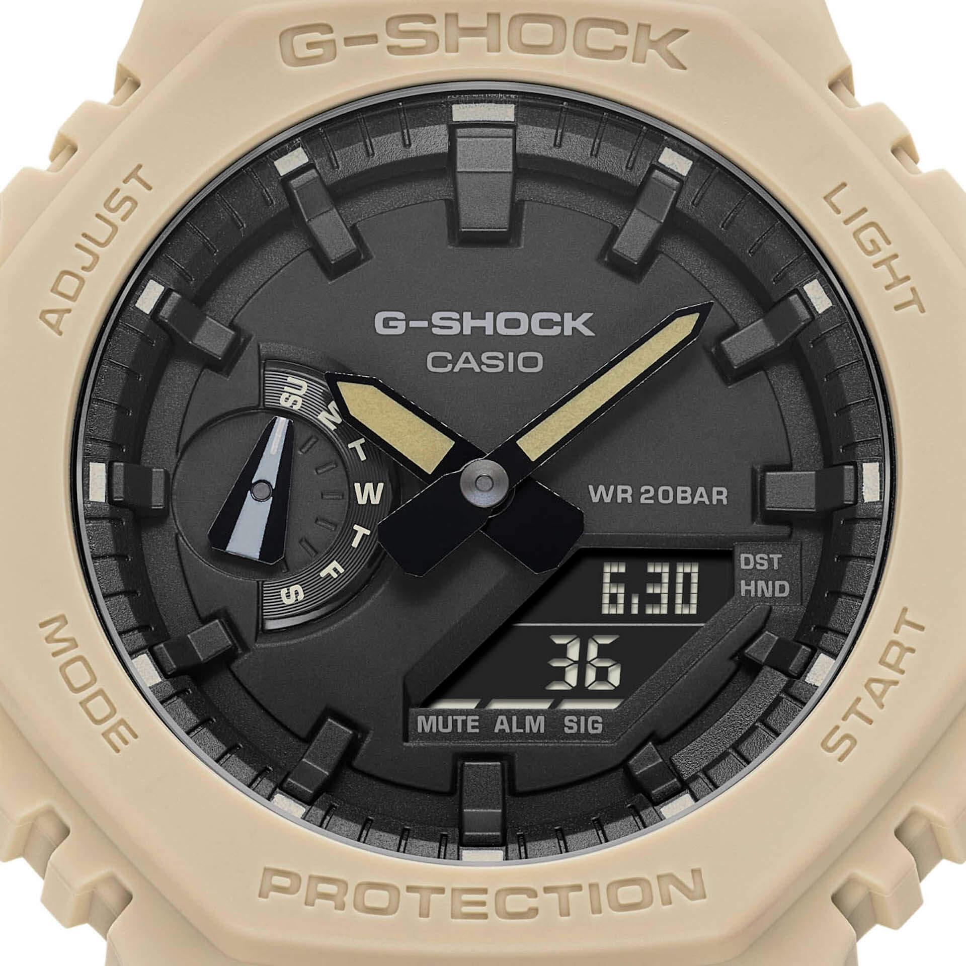 G-SHOCK「GA-2100」シリーズにクラシカルなネイビー、ベージュ、ホワイトの3カラーが登場! tech210805_gshock_ga2100_4