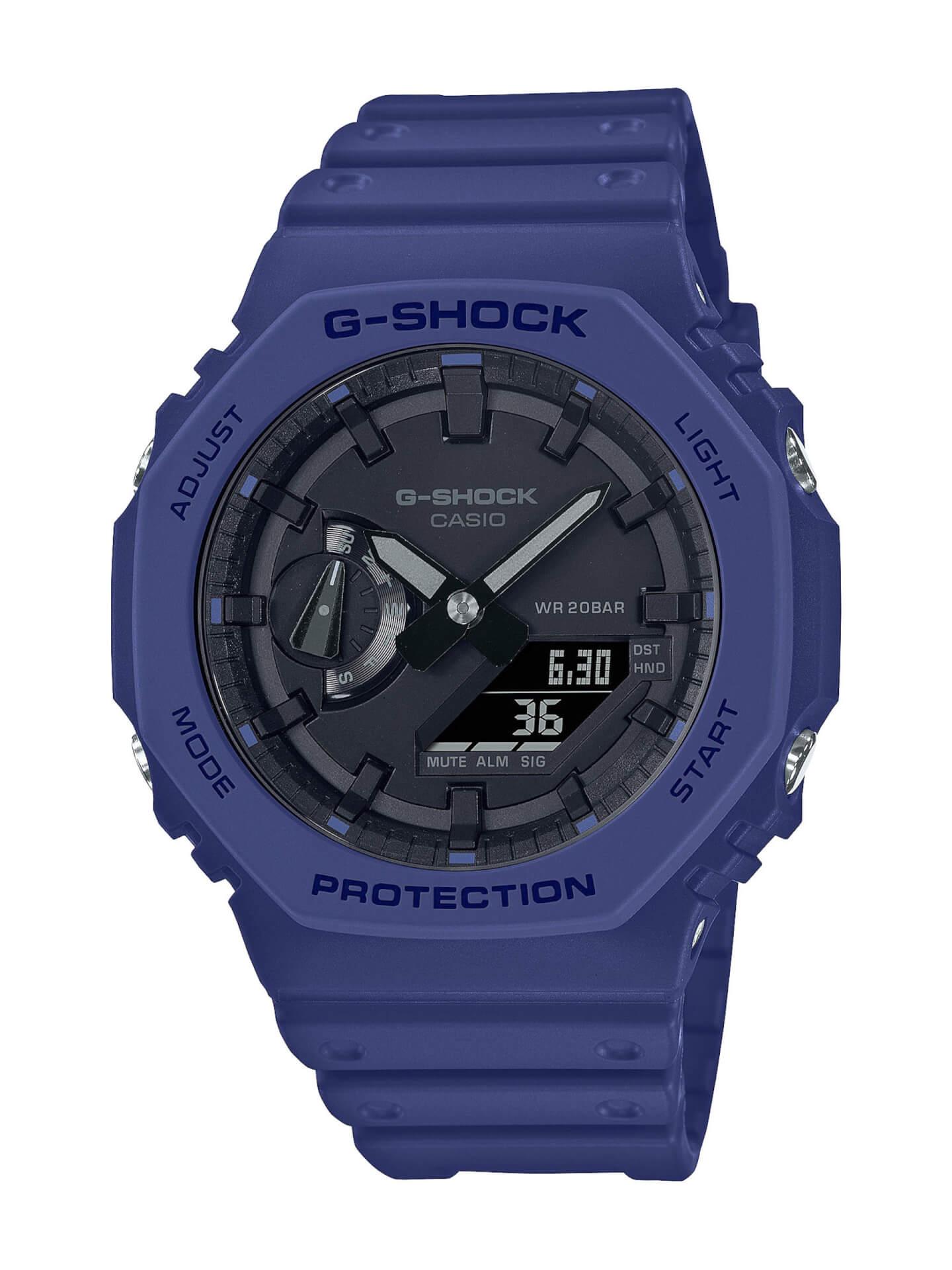 G-SHOCK「GA-2100」シリーズにクラシカルなネイビー、ベージュ、ホワイトの3カラーが登場! tech210805_gshock_ga2100_1