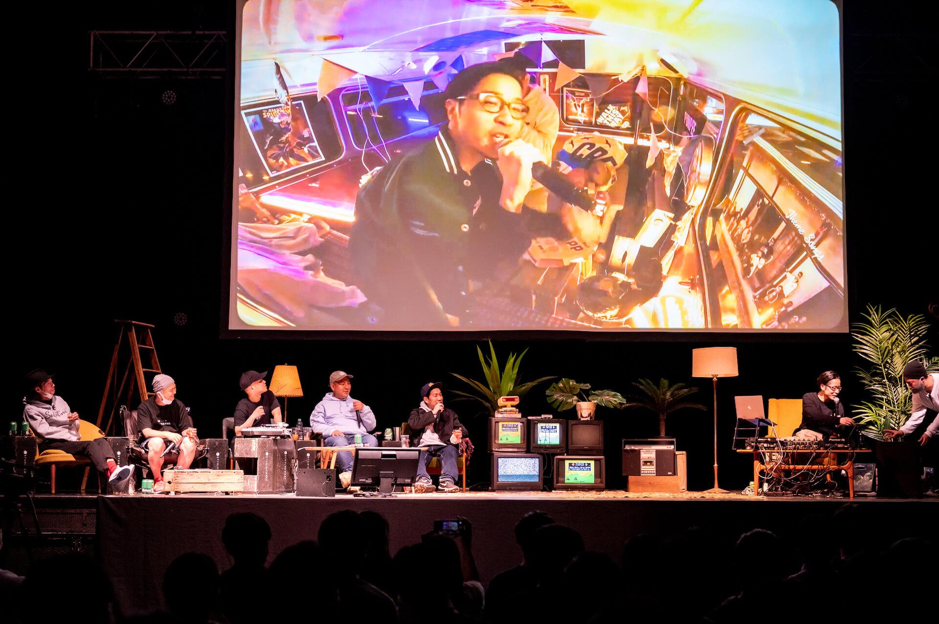 エグいネタバレは「エモい!」じゃすまされない、えもいわれぬ体験|PUNPEEが再定義したトークイベントの価値 music210709_punpee-tongpoo-06