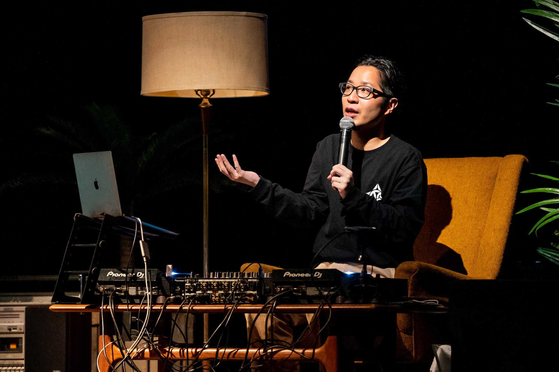 エグいネタバレは「エモい!」じゃすまされない、えもいわれぬ体験|PUNPEEが再定義したトークイベントの価値 music210709_punpee-tongpoo-010