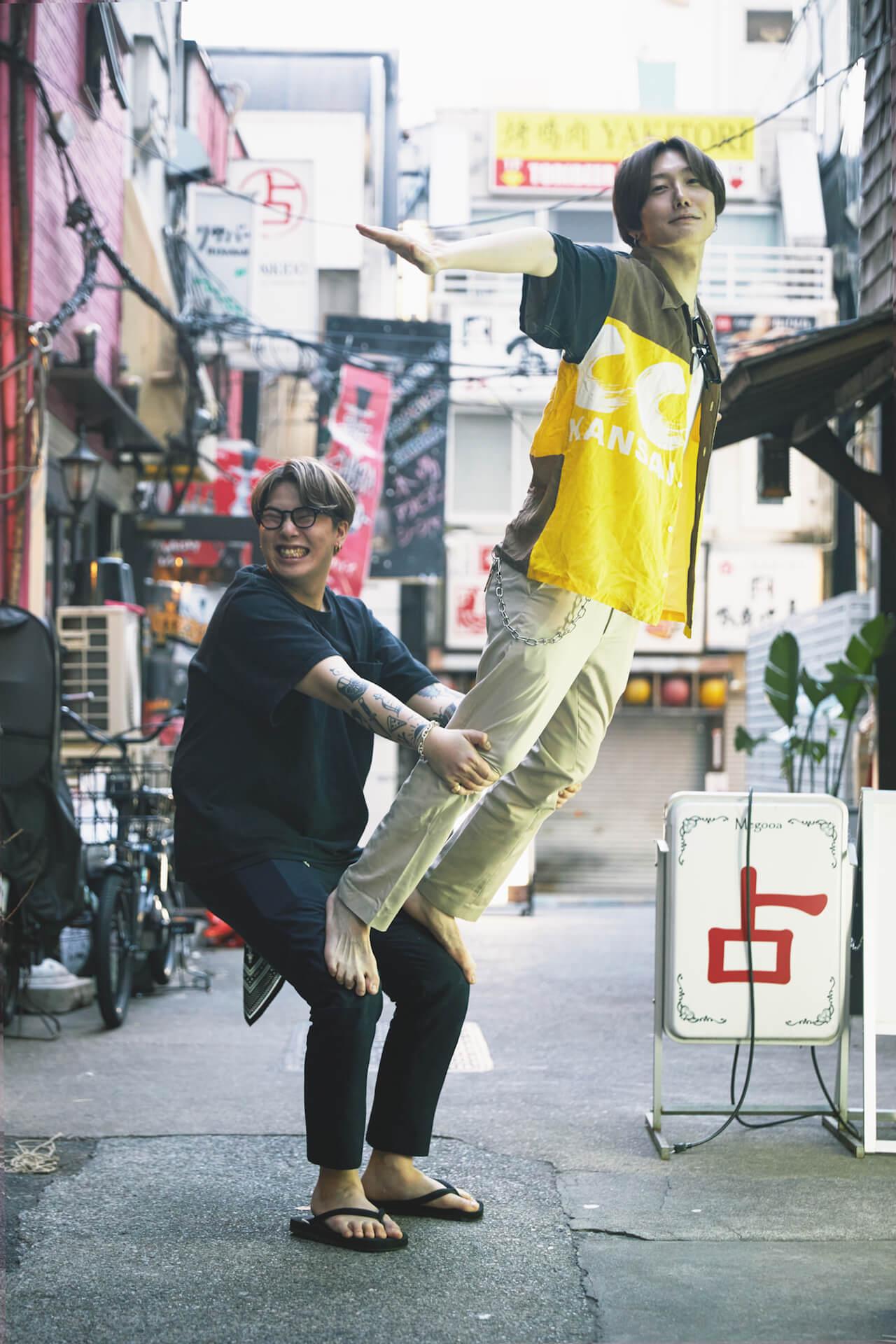 「ホストの輪郭」対談篇〜歌舞伎町、恋愛、いい男になること〜 column210818-aoyamareman-3