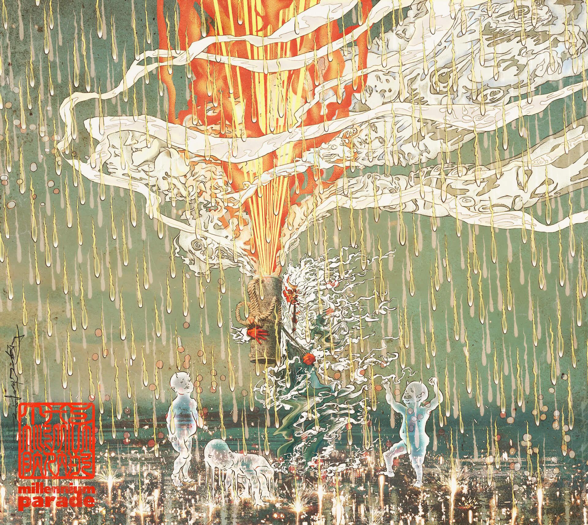 常田大希率いるmillennium paradeが東阪ワンマンライブの開催を発表!シリアルナンバー先行予約もスタート music210819_millenniumparade_1