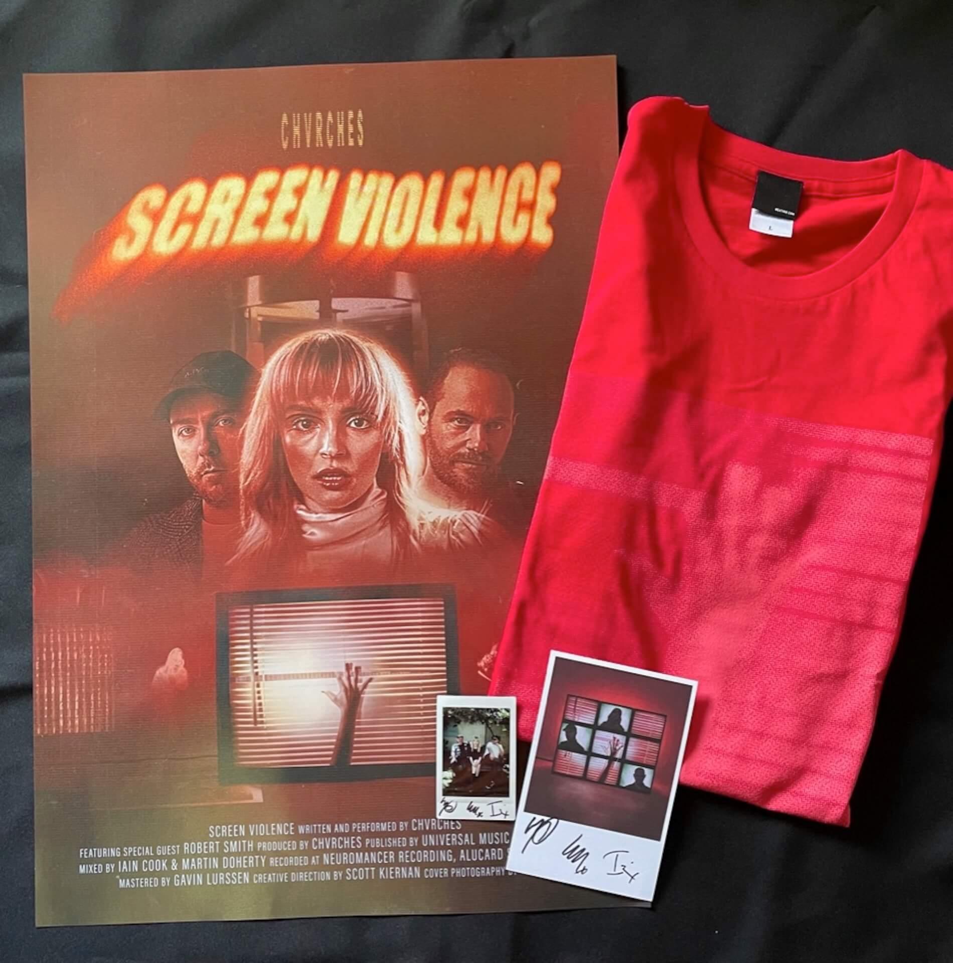 CHVRCHES最新アルバム『Screen Violence』発売記念!タワレコでサイン入り豪華特典が当たるキャンペーン実施決定 music210824_chvrches_14