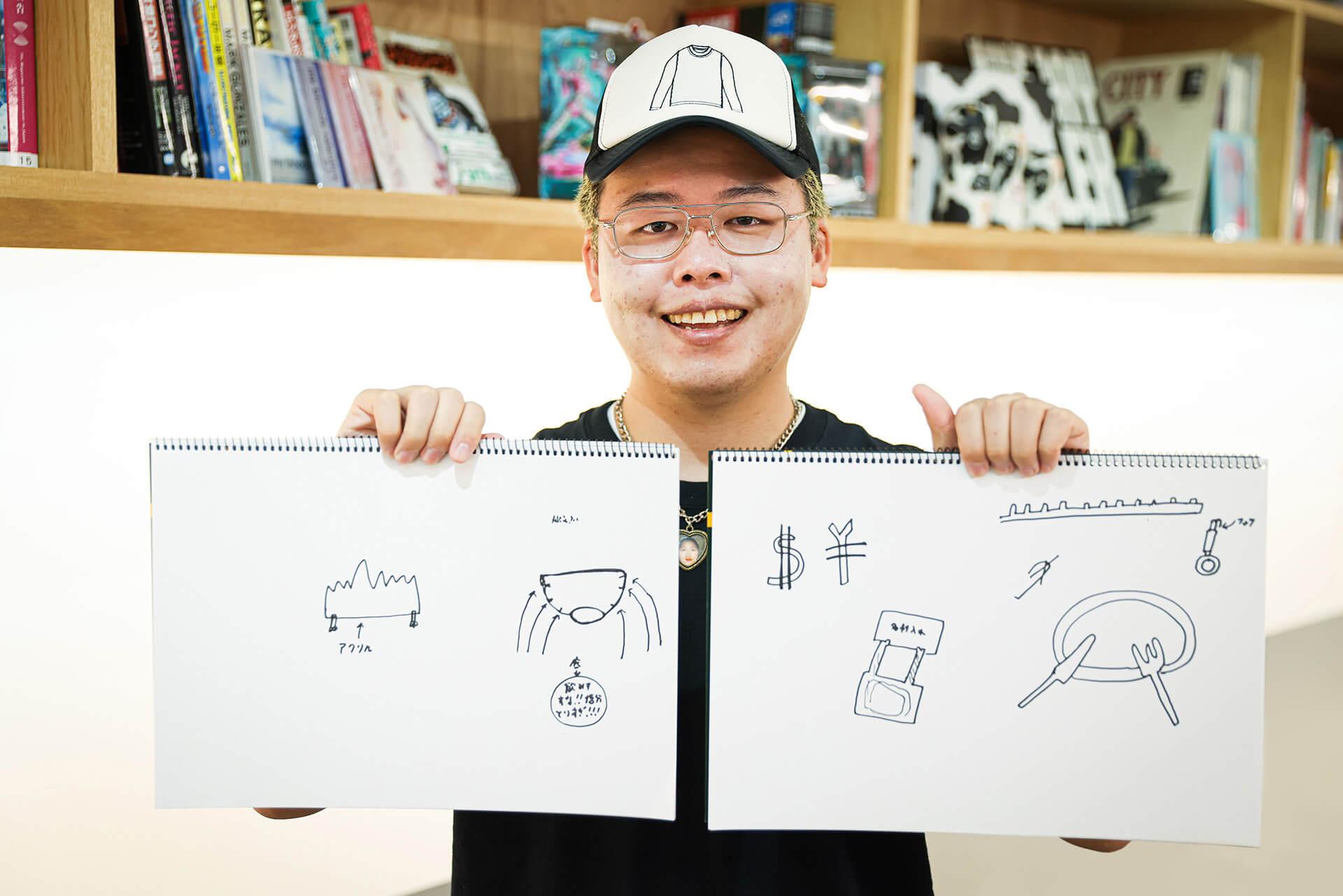 アーティスト・ぼく脳が仕掛ける『EkiLabものづくりAWARD2021』側方支援企画「既成概念という箱を壊せ!」 interview-ekilab-bokunou-12