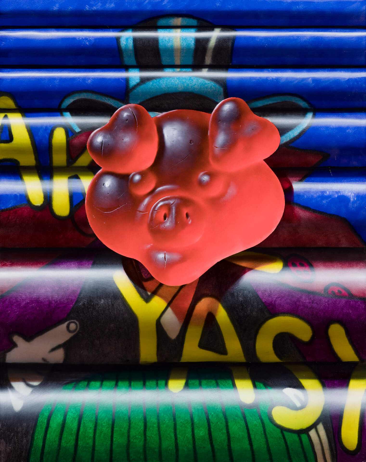 タトゥーを纏った肉塊を描くクリスチャン・レックス・ヴァン・ミネンの日本初個展が東京3会場で開催! art210804_nanzuka-01