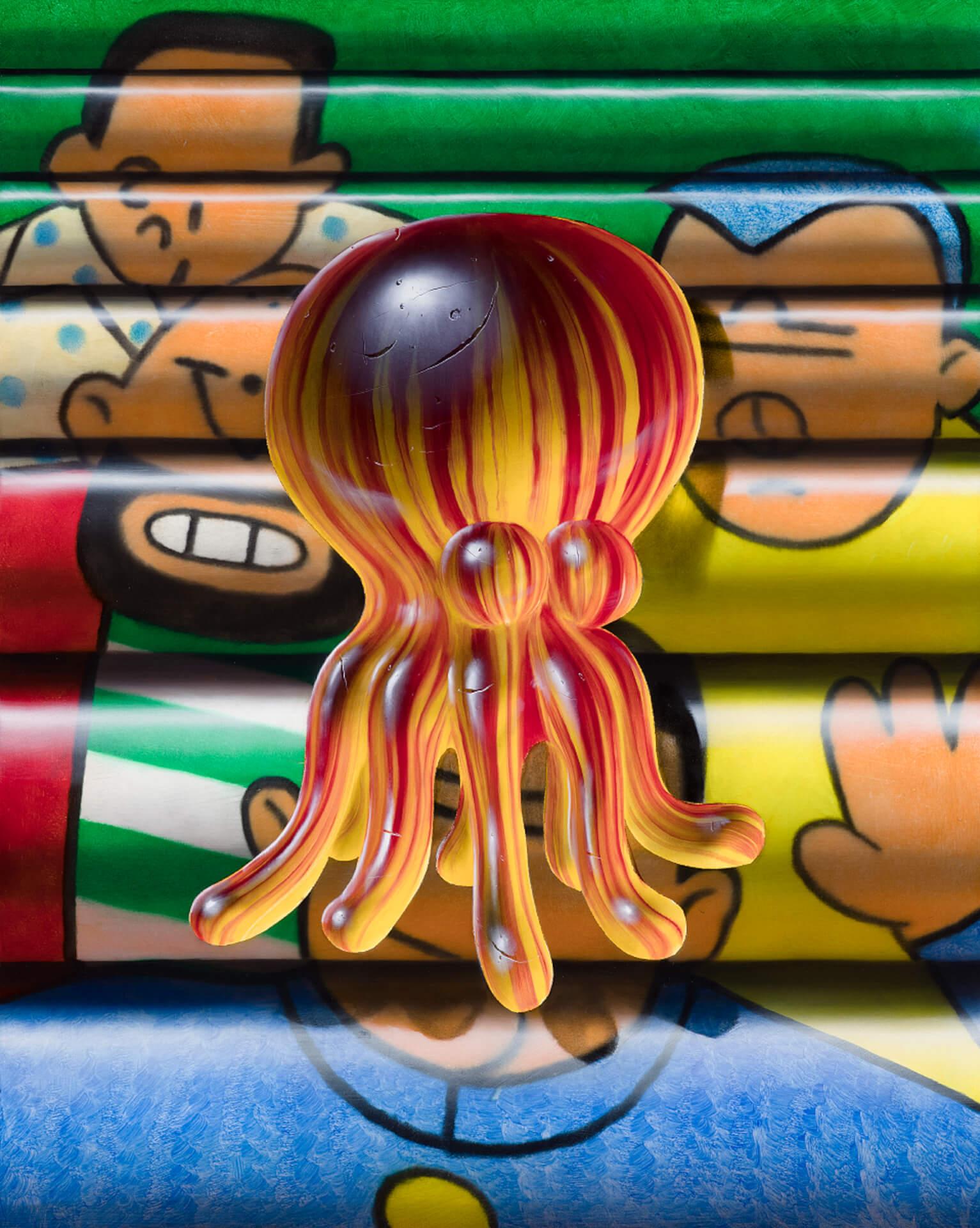 タトゥーを纏った肉塊を描くクリスチャン・レックス・ヴァン・ミネンの日本初個展が東京3会場で開催! art210804_nanzuka-02