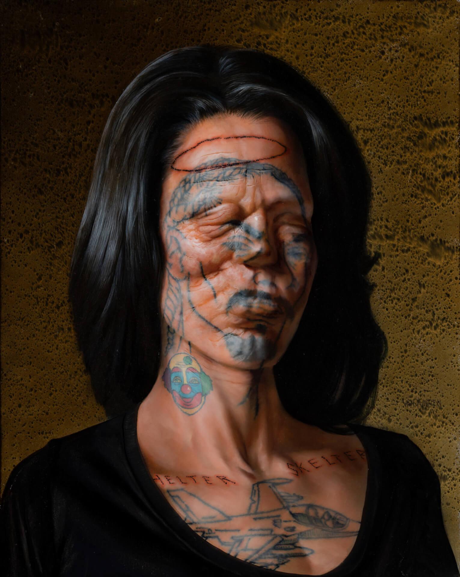 タトゥーを纏った肉塊を描くクリスチャン・レックス・ヴァン・ミネンの日本初個展が東京3会場で開催! art210804_nanzuka-03