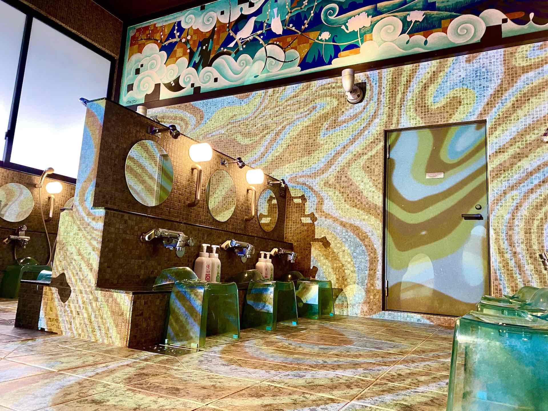 『あびばのんのん』をリリースするTempalayと全国の温浴施設のコラボが実現!改良湯で装飾、のれんなどがコラボ仕様に music210906_tempalay_9