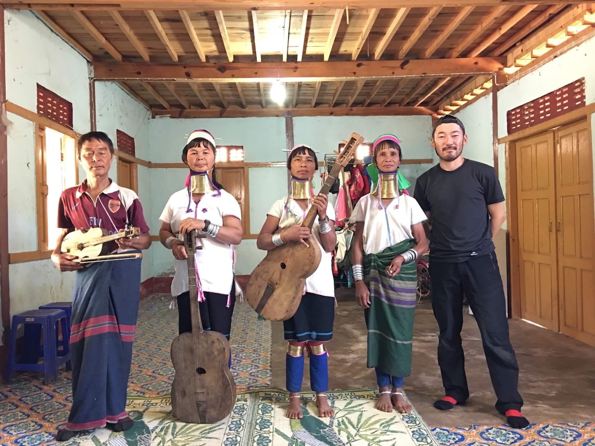 ミャンマーの文化とともに —— コムアイ、オオルタイチ、井口寛が語る音を通じた繋がり interview210917_staywithmyanmar_16