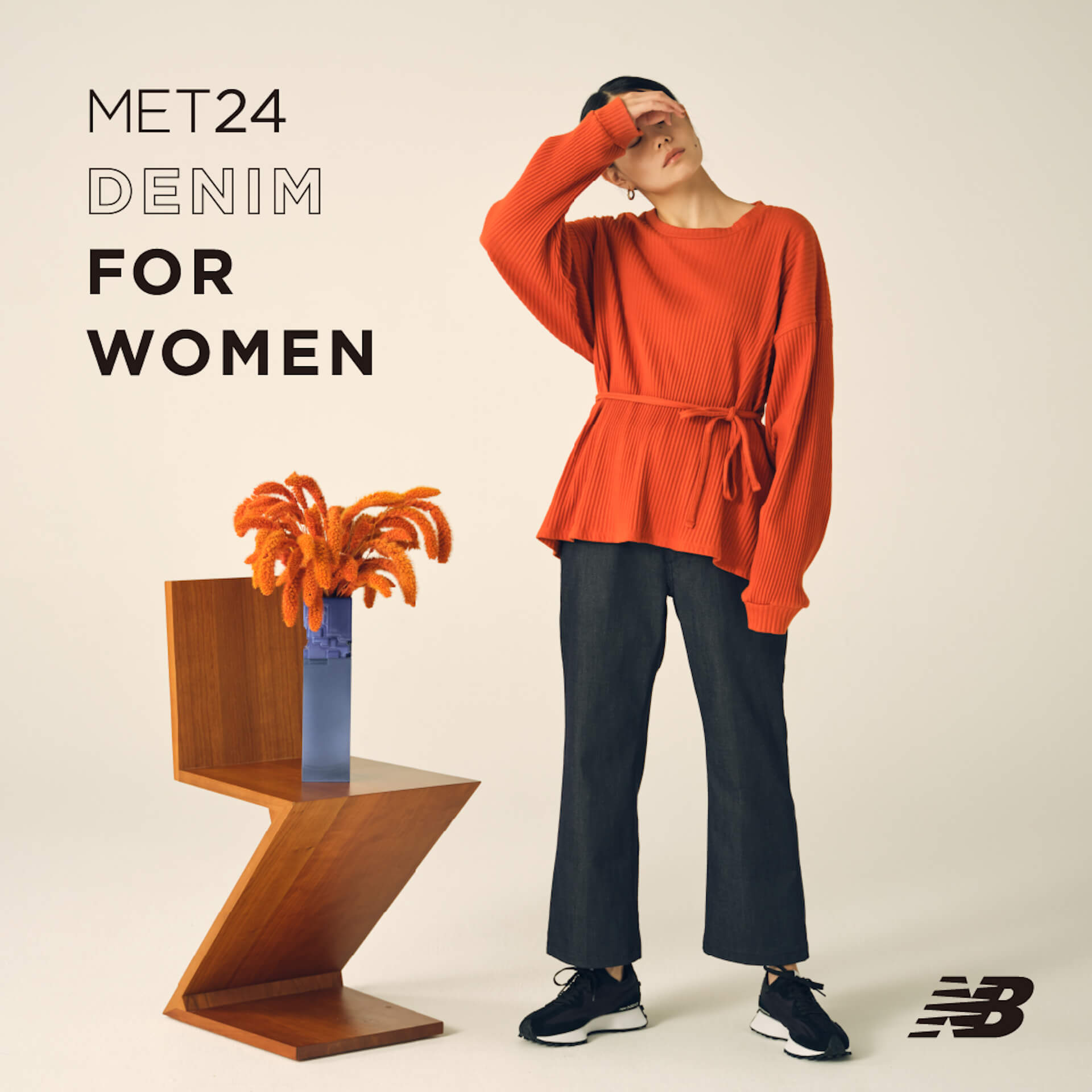 ニューバランスによるデニムパンツ「MET24 DENIM」にウィメンズ3シルエットが登場! life210909_newbalance_denim_4