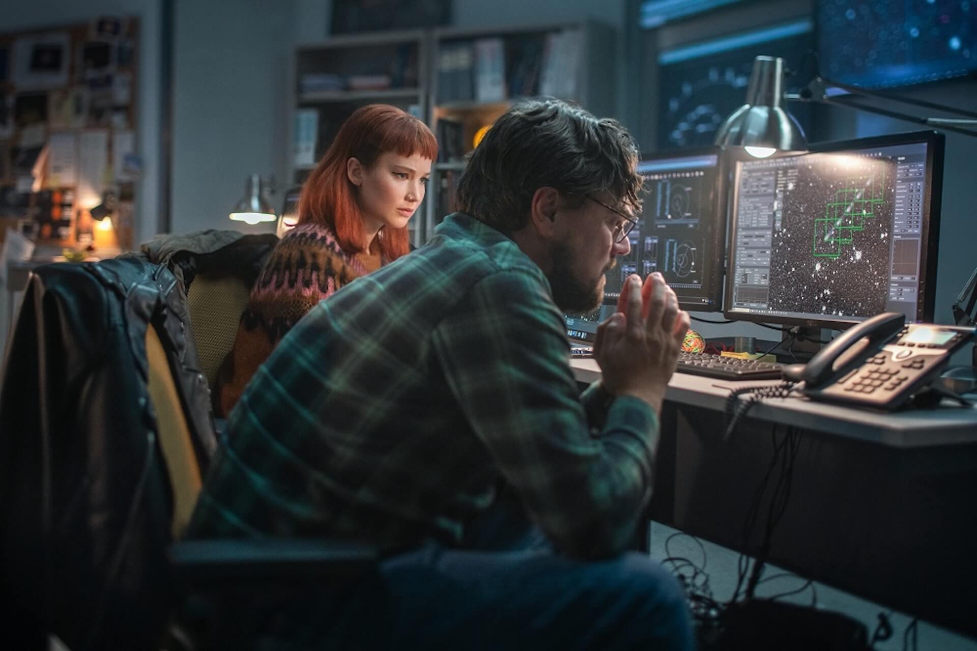 ディカプリオが地球に落ちてくる彗星をくい止めるために奔走!?Netflix『ドント・ルック・アップ』の初映像&場面写真が解禁 film210910_dontlookup_2