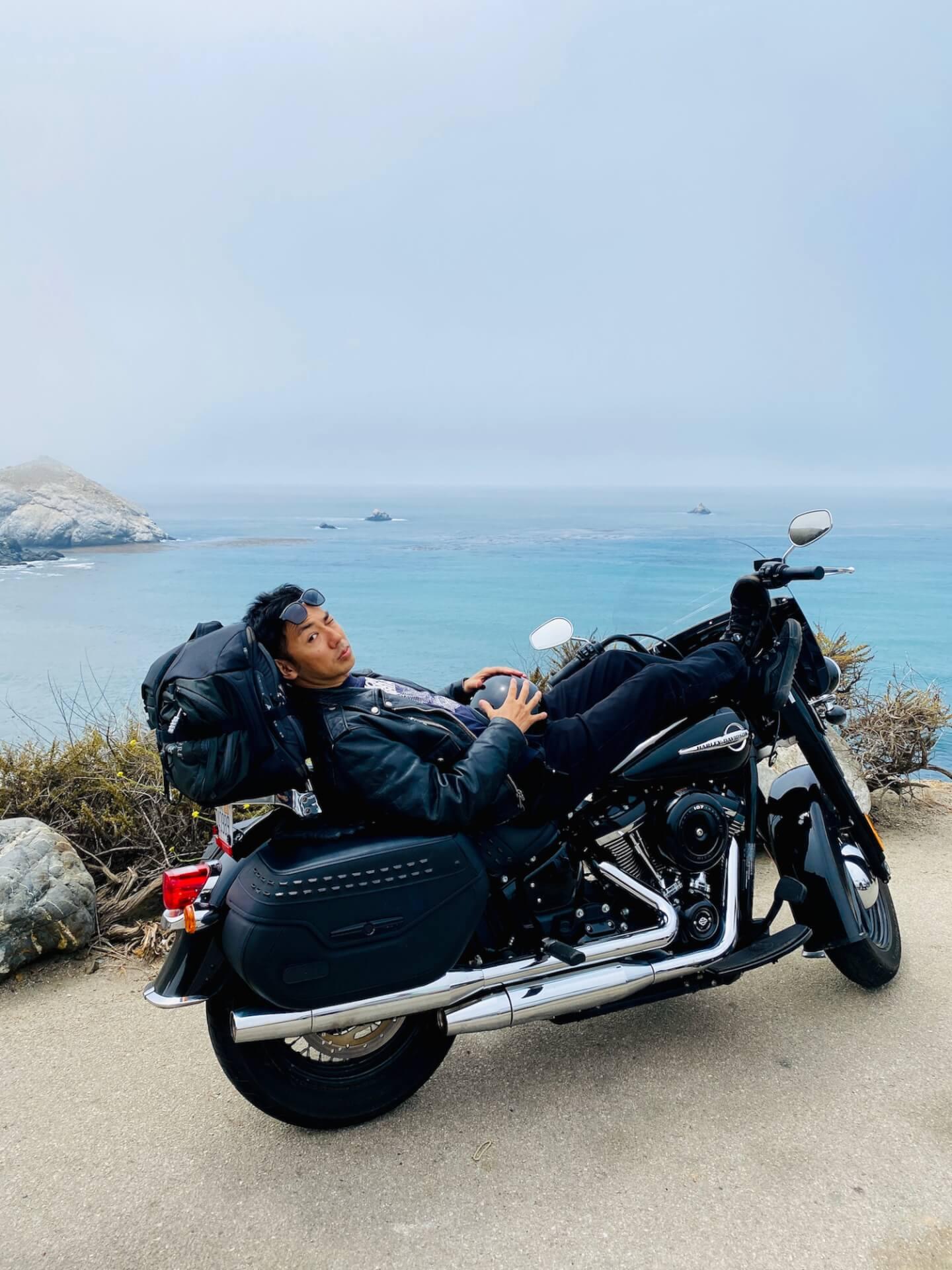 ピース綾部祐二のサンフランシスコ〜LAバイク旅を追う interview2109-yuji-ayabe-LA-16