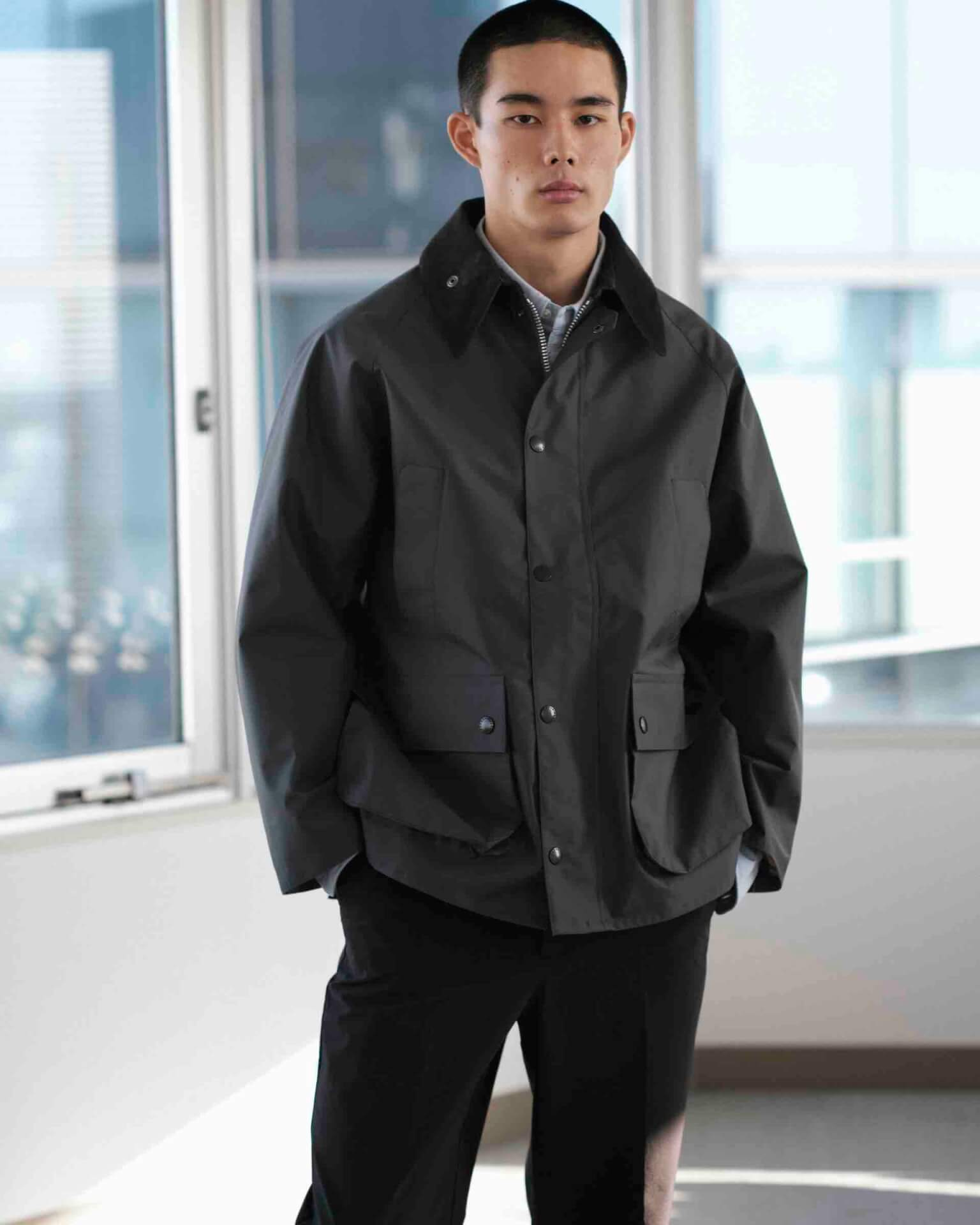 BarbourとworkahoLCのコラボアイテムが発売決定!OVER SIZE BEDALEモデルのジャケットが登場 life210913_urbs_barbour_1