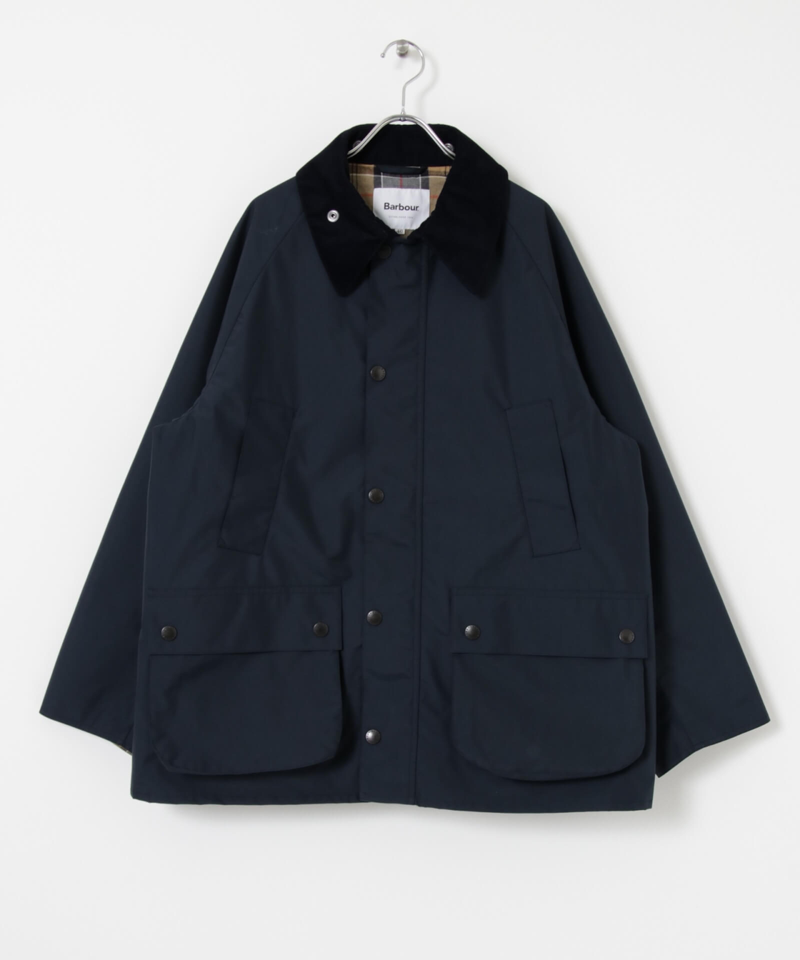 BarbourとworkahoLCのコラボアイテムが発売決定!OVER SIZE BEDALEモデルのジャケットが登場 life210913_urbs_barbour_3