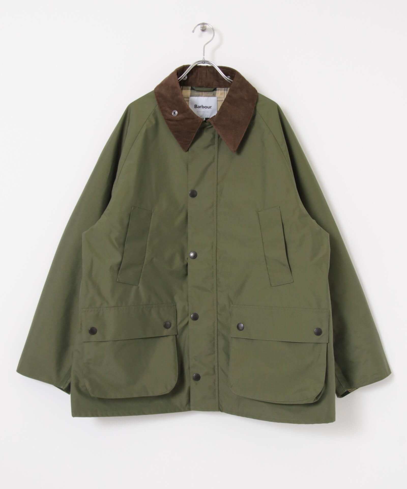 BarbourとworkahoLCのコラボアイテムが発売決定!OVER SIZE BEDALEモデルのジャケットが登場 life210913_urbs_barbour_4
