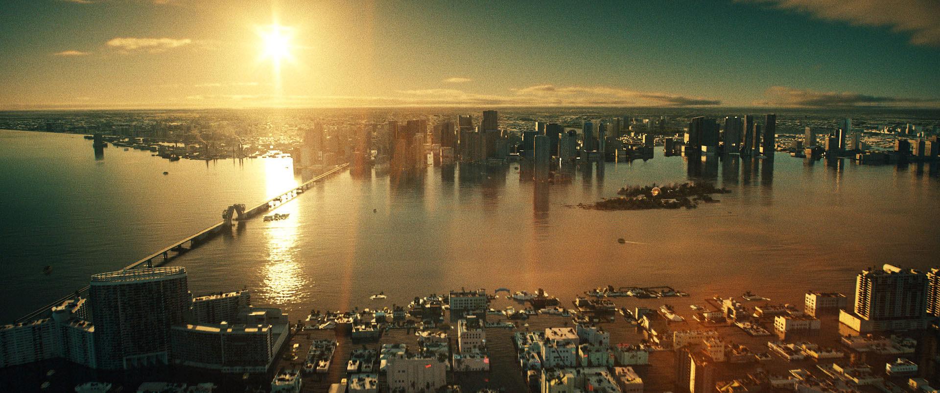 リサ・ジョイが幻想的な水没都市を描き出す!ヒュー・ジャックマン主演『レミニセンス』のメイキング映像が解禁 film210915_reminiscence_3