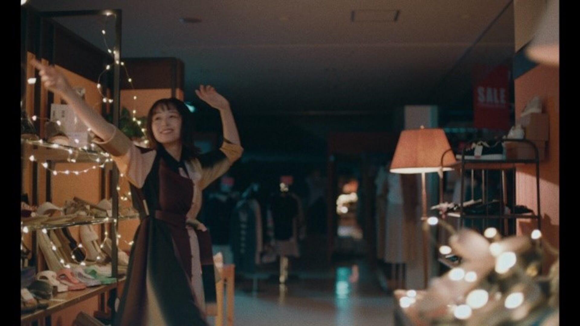 yurinasiaが清野菜名演じるマネキン・真希のダンス振付を担当!資生堂「マキアージュ」ショートフィルム公開 art210915_yurinasia_seinonana_2