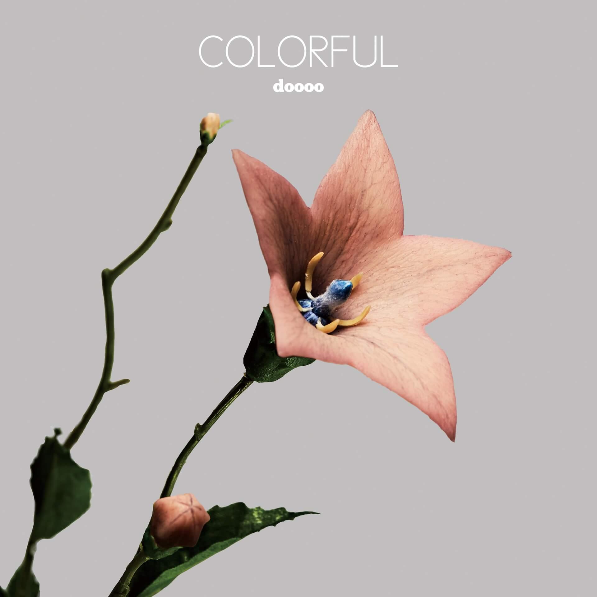 dooooが10月にリリースする2ndアルバム『COLORFUL』の予約販売スタート!話題の「人肉USB」でもリリース music210916_doooo_colorfull_01