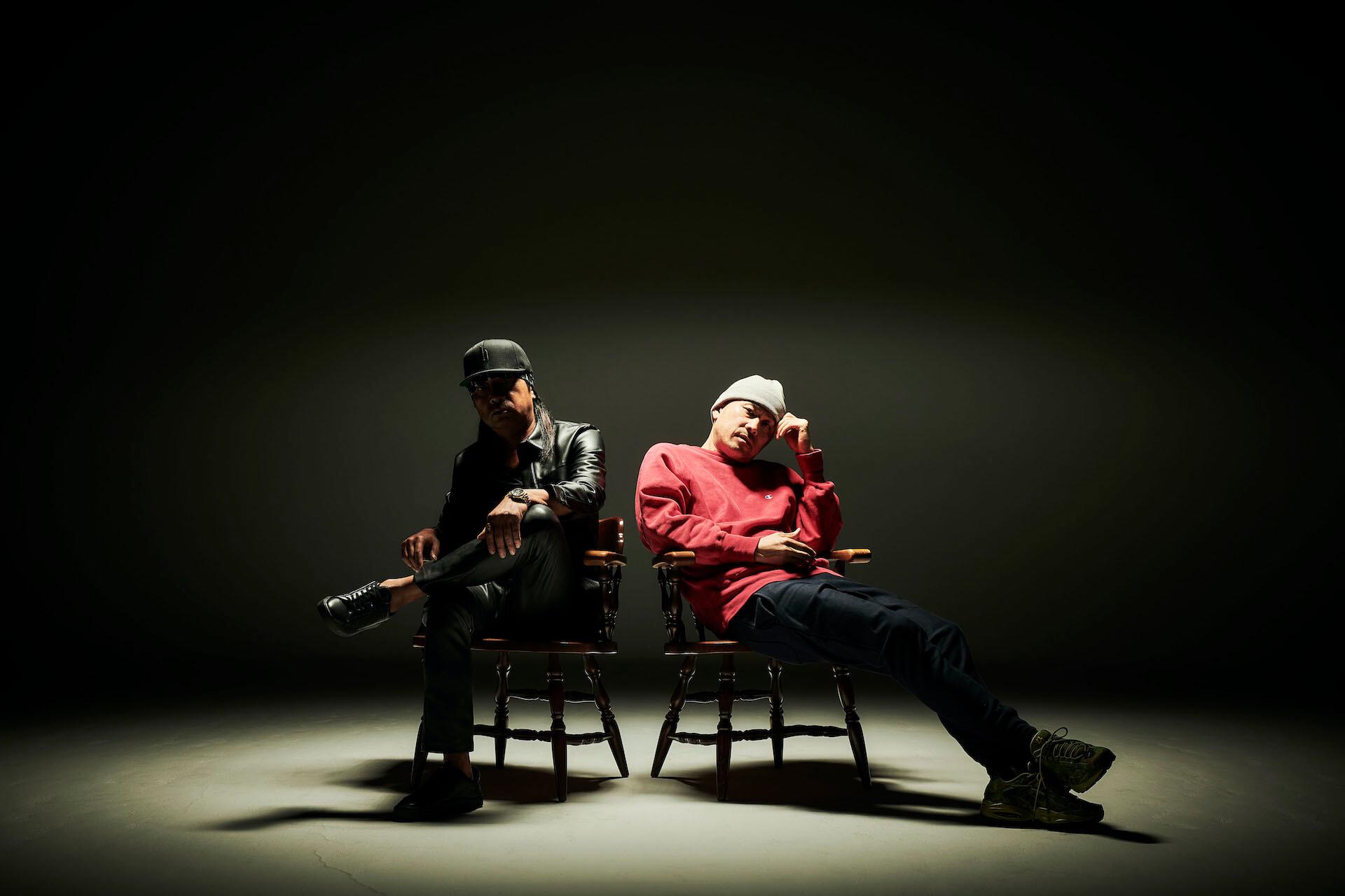 ILL-BOSSTINOとdj hondaによるアルバム『KINGS CROSS』から先行7インチがリリース決定! music210917_illbosstino_01