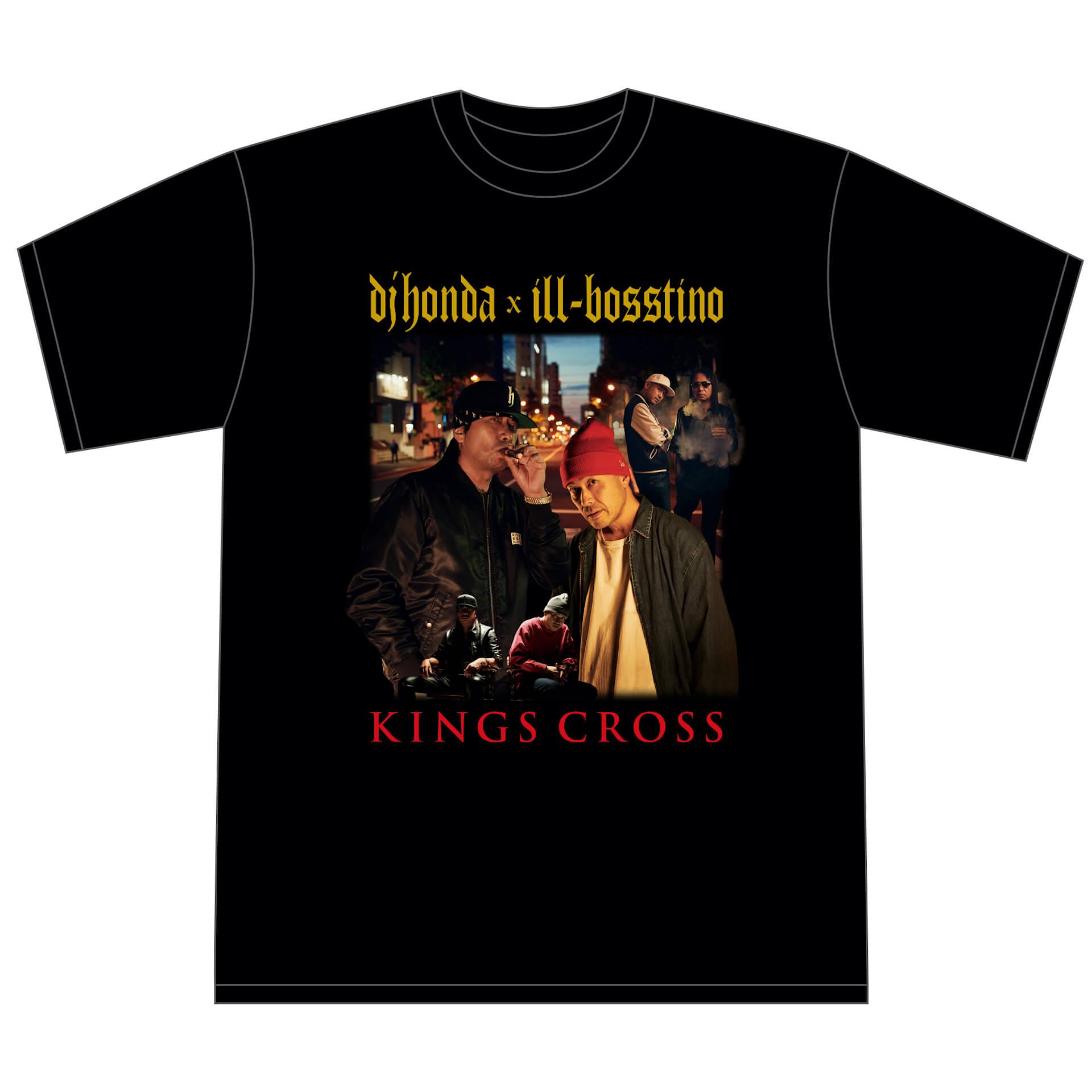 ILL-BOSSTINOとdj hondaによるアルバム『KINGS CROSS』から先行7インチがリリース決定! music210917_illbosstino_02