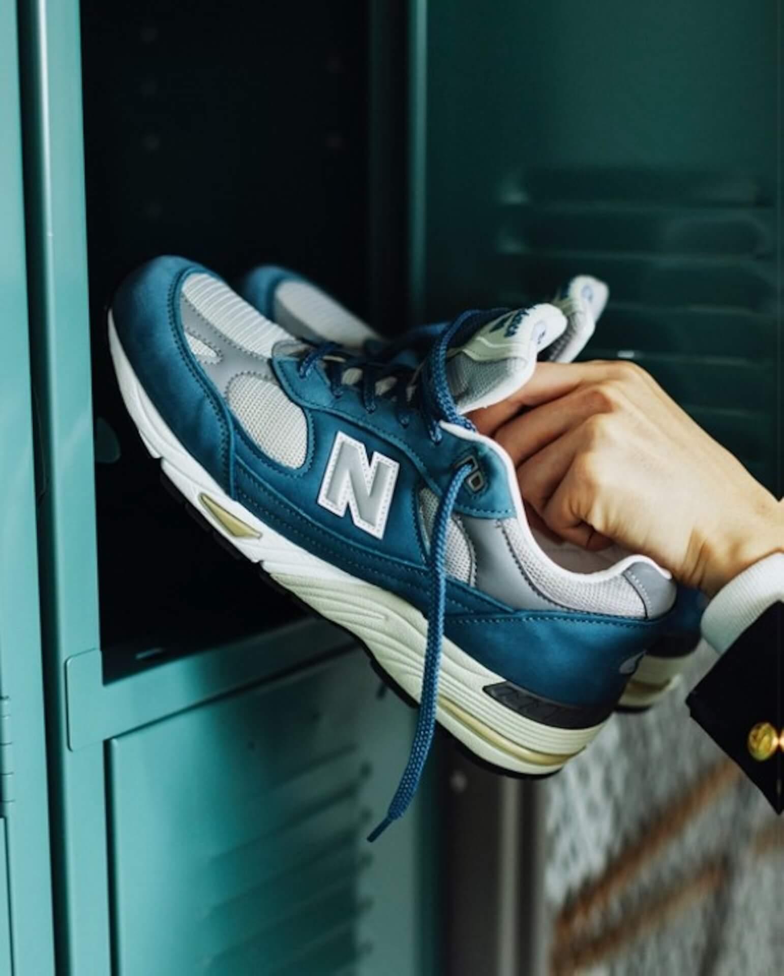 ニューバランス「991」にオフィシャル&BEAMS PLUS限定カラーのスレートブルー&ウォームグレーが登場! life210917_newbalance_991_1
