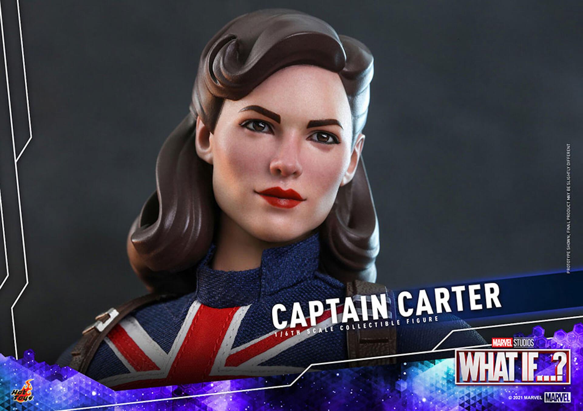 もしもの世界のヒーローがフィギュアに!マーベル・スタジオ『ホワット・イフ...?』のキャプテン・カーターがホットトイズより登場 art210921_captaincarter_hottoys_5