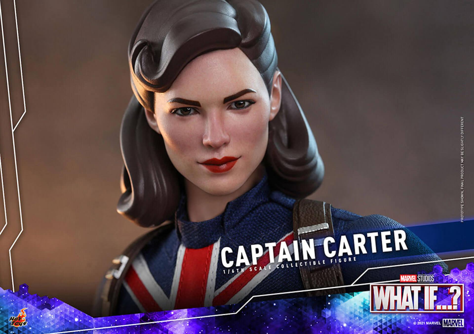 もしもの世界のヒーローがフィギュアに!マーベル・スタジオ『ホワット・イフ...?』のキャプテン・カーターがホットトイズより登場 art210921_captaincarter_hottoys_6