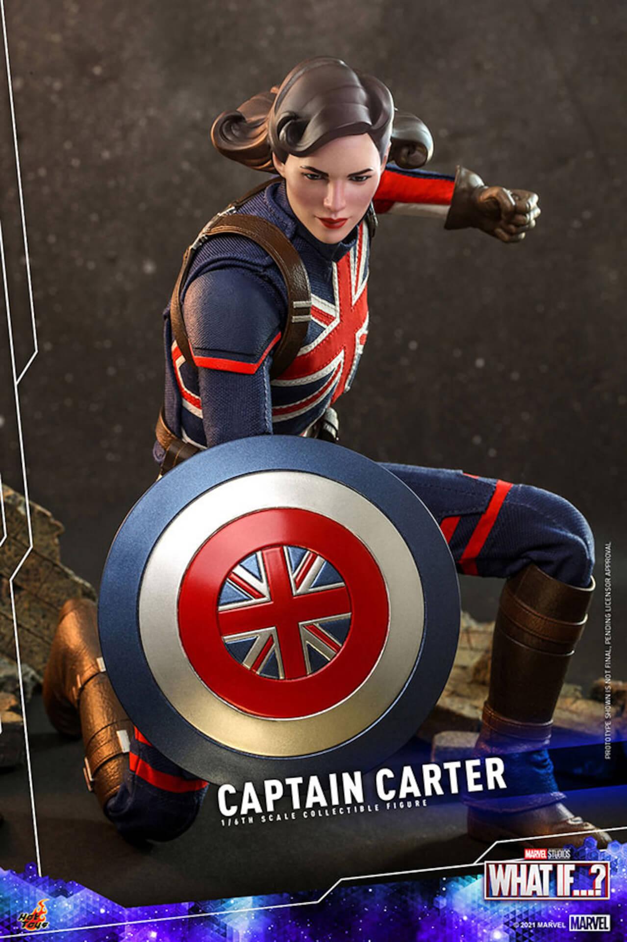 もしもの世界のヒーローがフィギュアに!マーベル・スタジオ『ホワット・イフ...?』のキャプテン・カーターがホットトイズより登場 art210921_captaincarter_hottoys_8