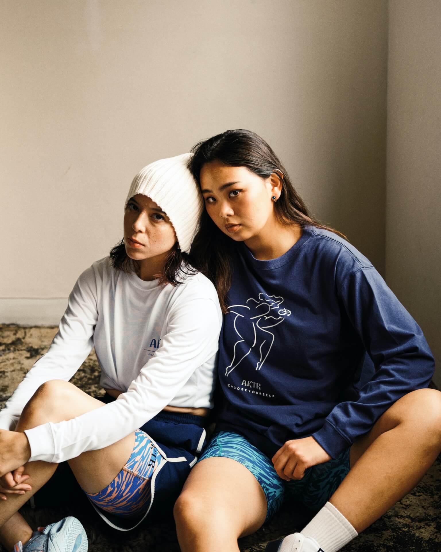 AKTRがオリジナルウィメンズライン「BREEZE collection」を発売決定!ルックに女子プロバスケットボール選手の馬瓜ステファニーらが起用 life210924_aktr_breez_015