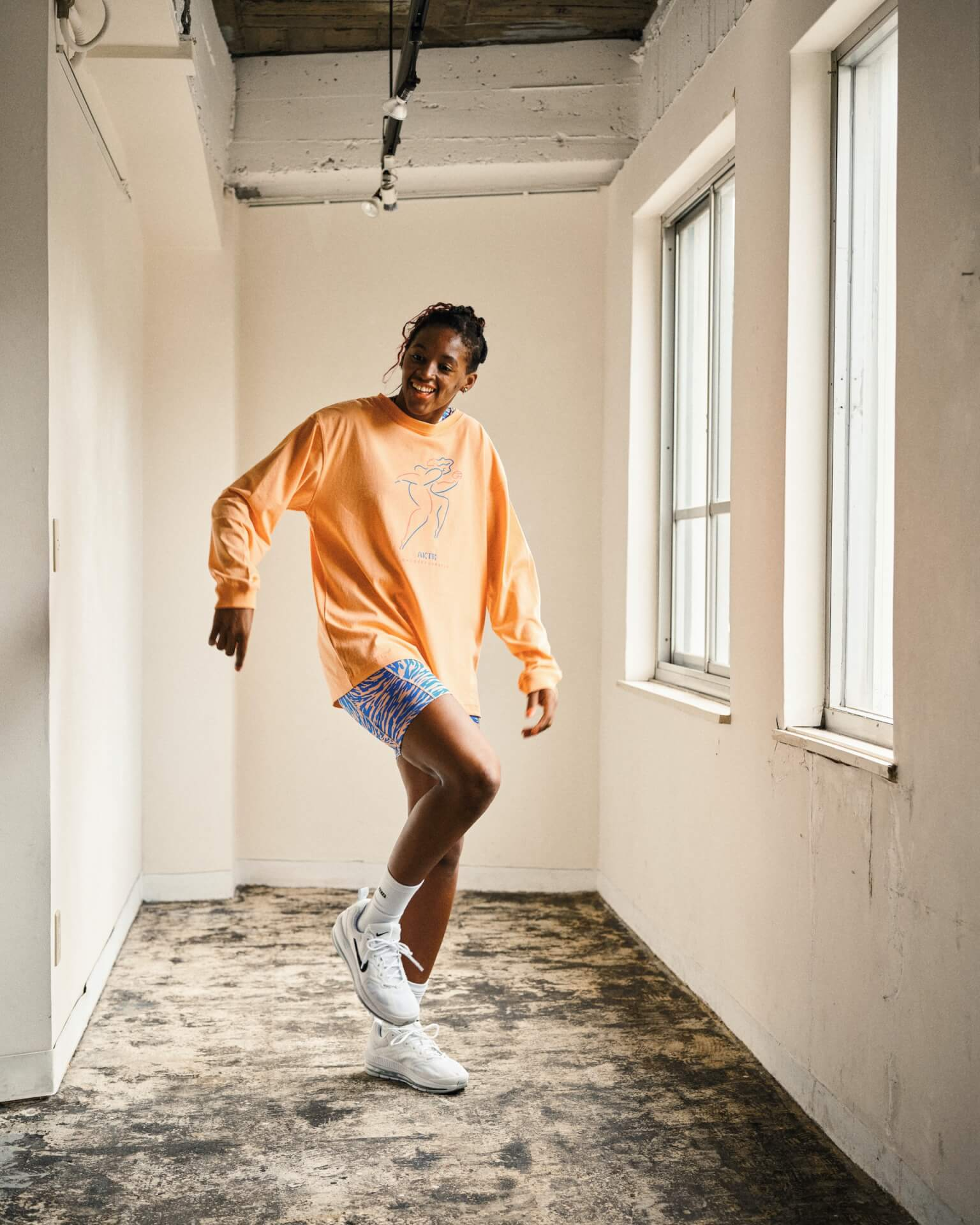AKTRがオリジナルウィメンズライン「BREEZE collection」を発売決定!ルックに女子プロバスケットボール選手の馬瓜ステファニーらが起用 life210924_aktr_breez_016