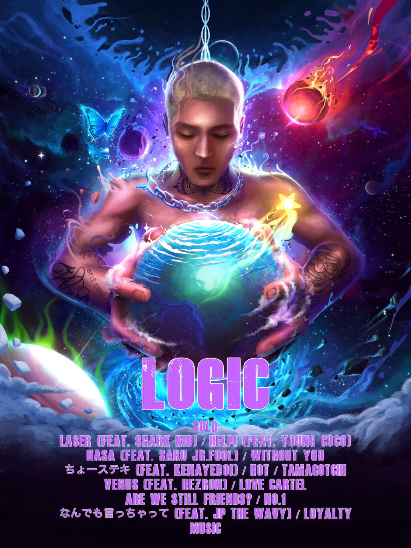 LEXがニューアルバム『LOGIC』のリリースを発表|JP THE WAVY、KM、Young Cocoらが参加 music210924_lex_1