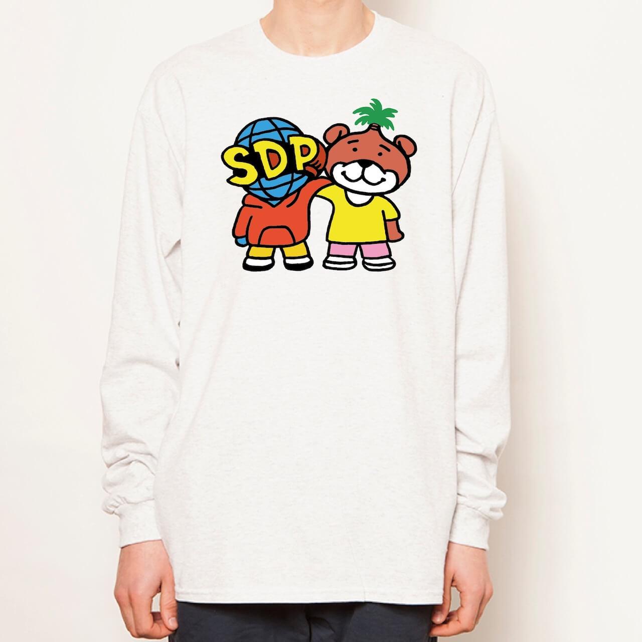 「スチャとネバヤン」話題のコラボからオリジナルTシャツとロンTが発売決定 music210928-schadaraparr-neveryoungbeach-2