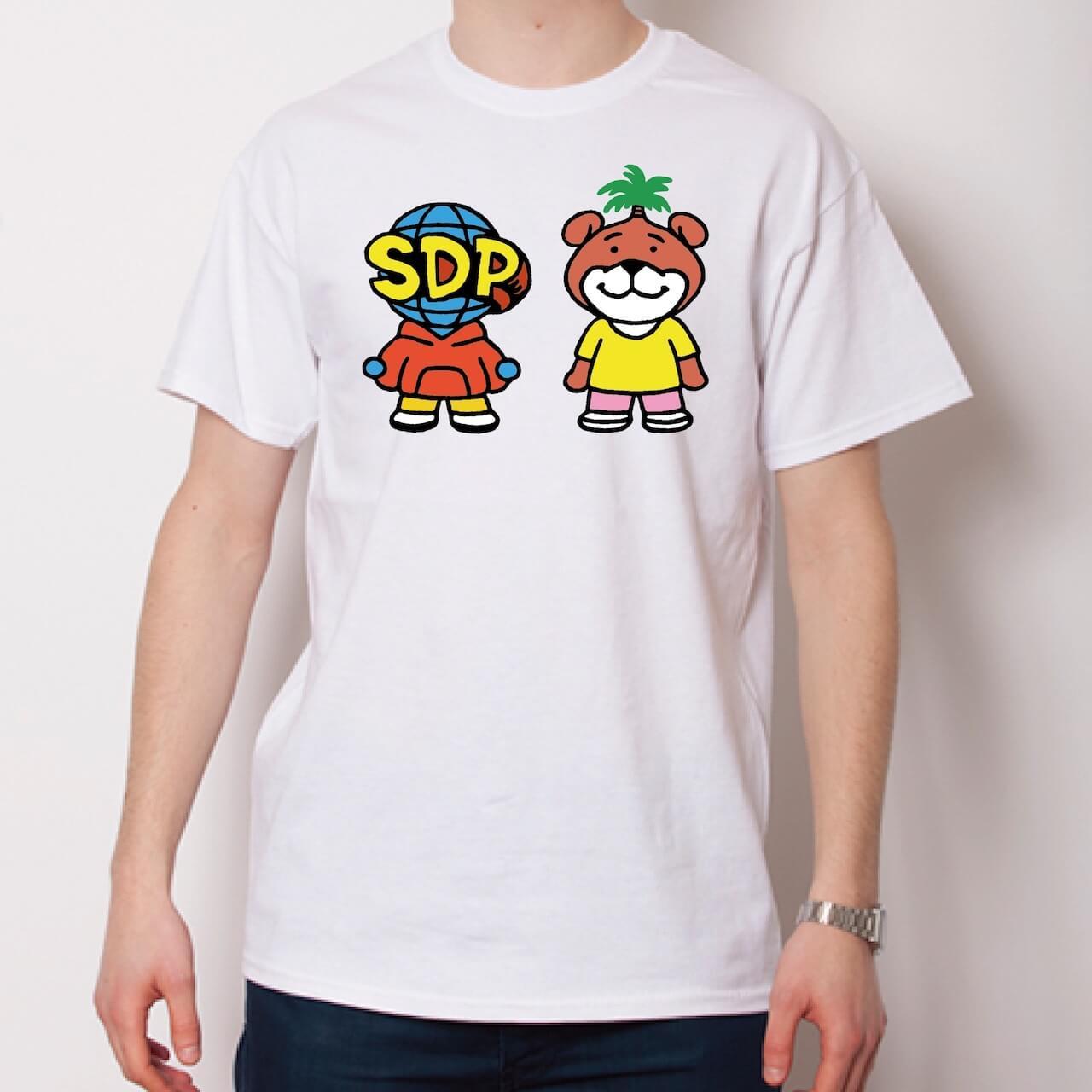 「スチャとネバヤン」話題のコラボからオリジナルTシャツとロンTが発売決定 music210928-schadaraparr-neveryoungbeach-4