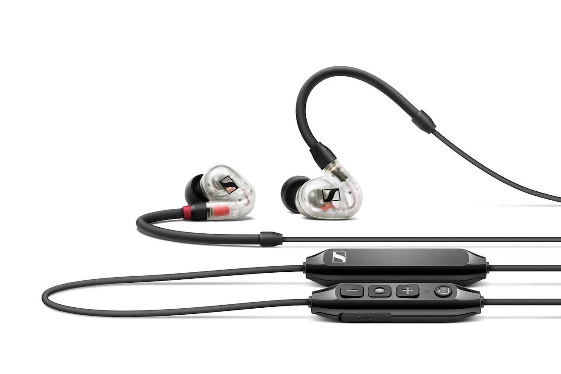 ゼンハイザーからワイヤレス&有線に対応するプロ仕様のモニタリングイヤホン『IE 100 PRO Wireless』が発売決定! tech210930_sennheiser_6