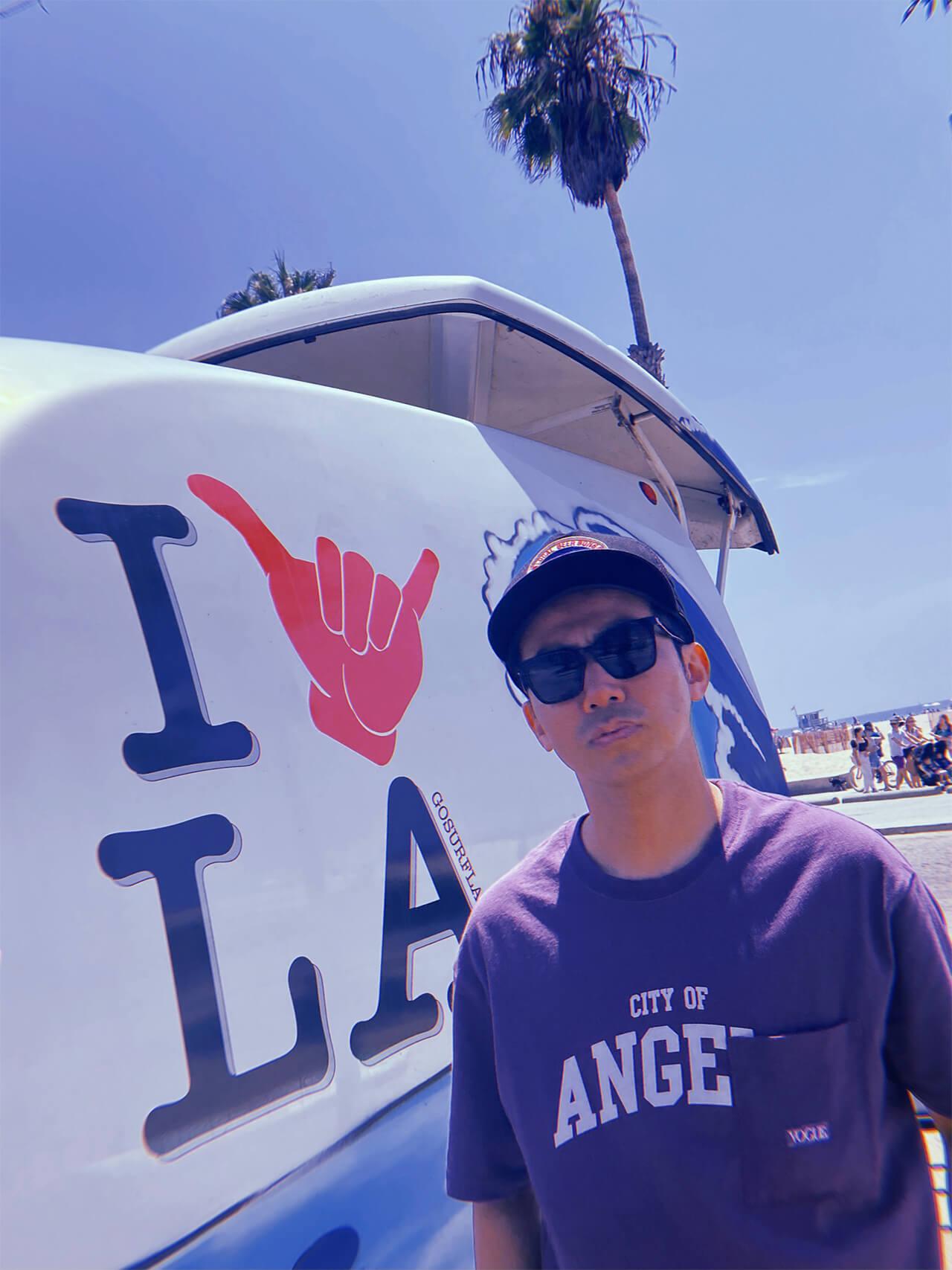 ピース綾部祐二のサンフランシスコ〜LAバイク旅を追う interview2110-yuji-ayabe-LA-6