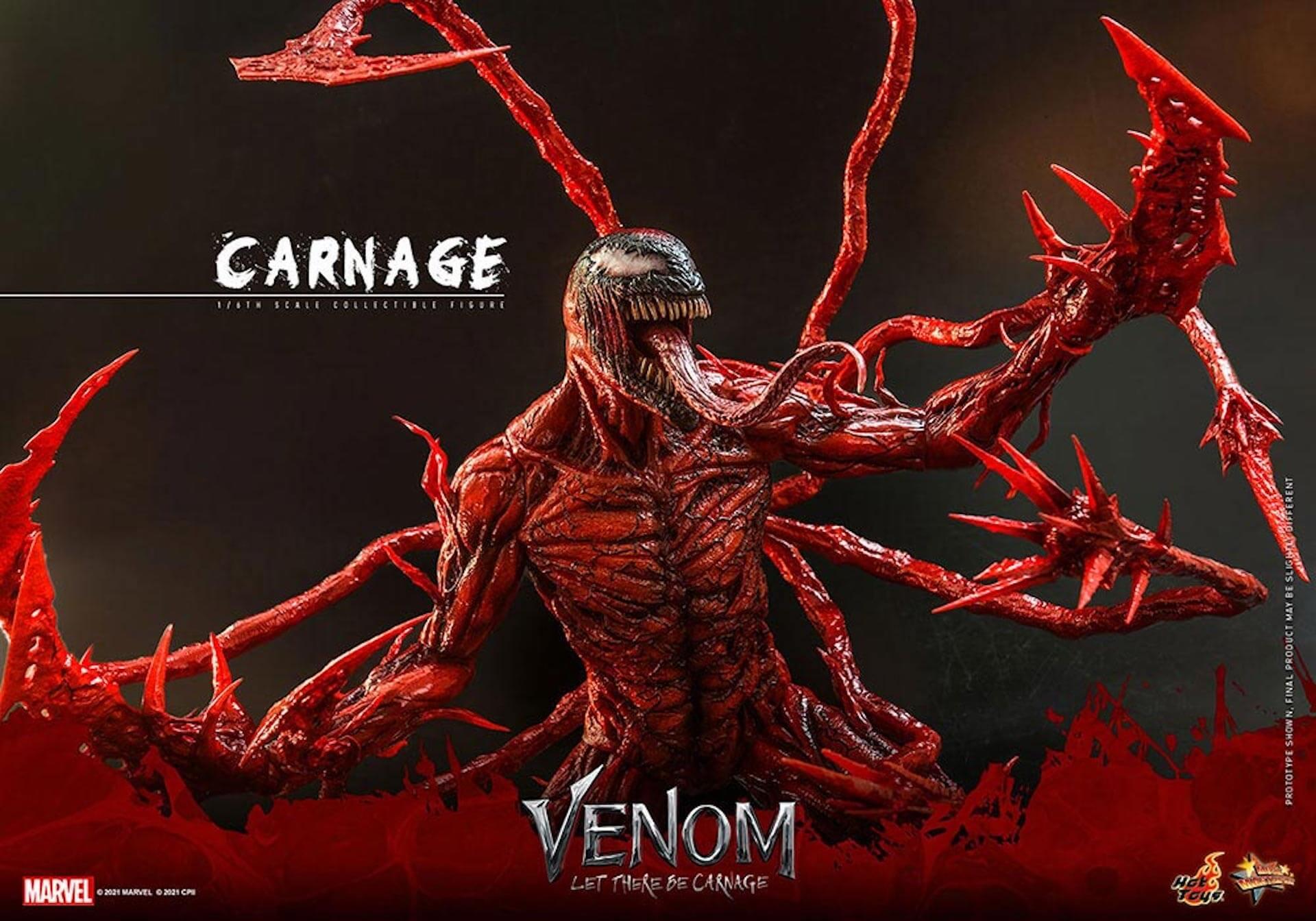 全米大ヒット中の『ヴェノム:レット・ゼア・ビー・カーネイジ』カーネイジがホットトイズでフィギュア化! art211007_venom_carnage_hottoys_8